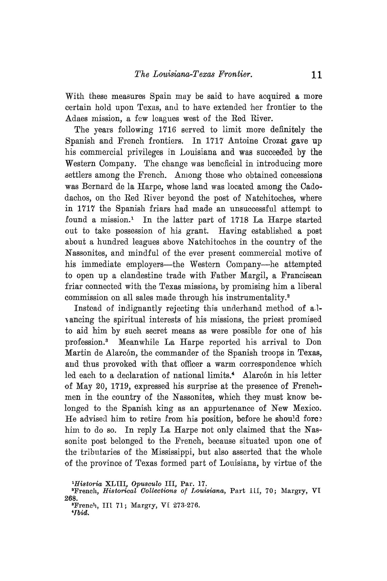 The Quarterly of the Texas State Historical Association, Volume 10, July 1906 - April, 1907                                                                                                      11