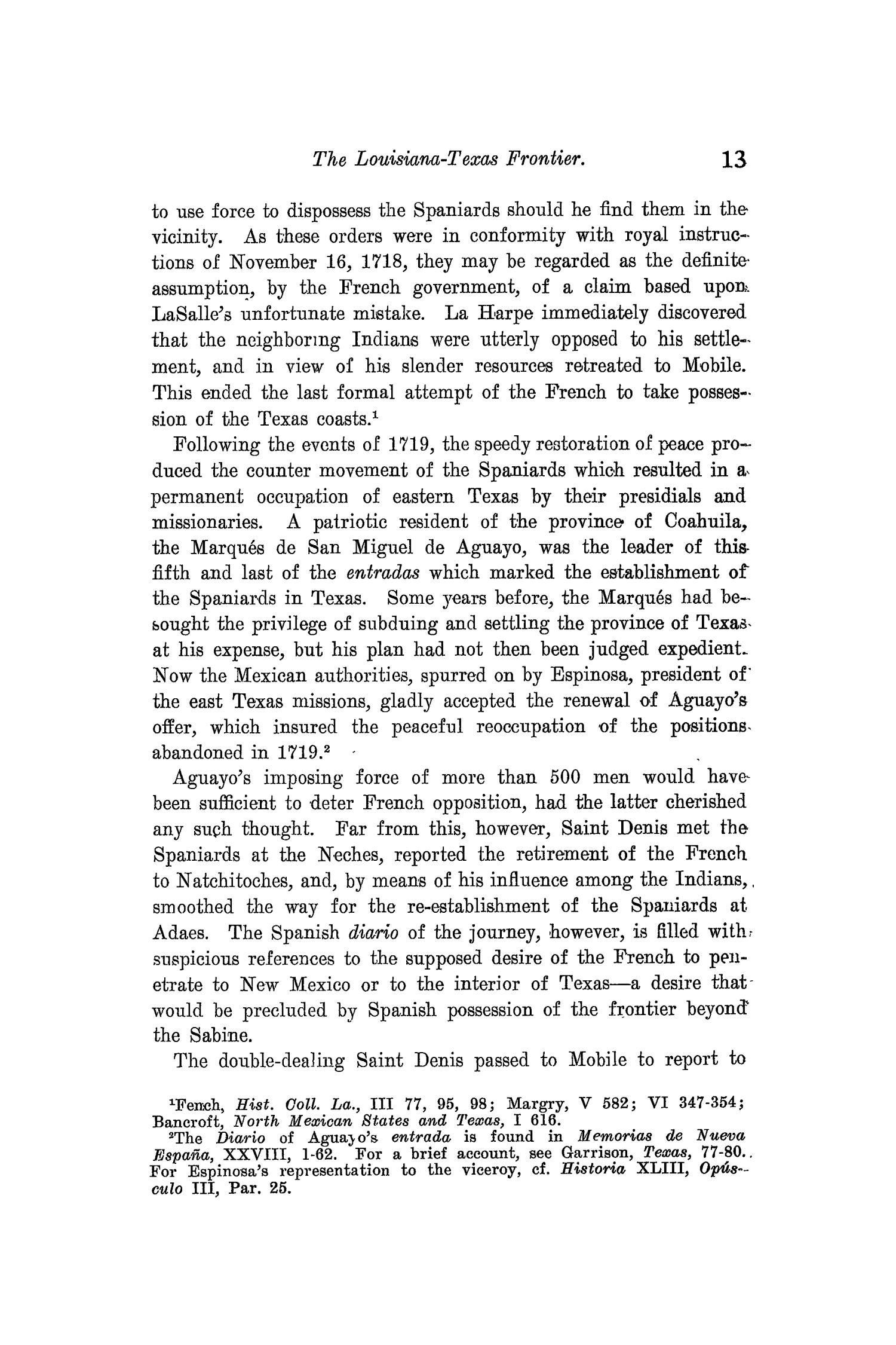 The Quarterly of the Texas State Historical Association, Volume 10, July 1906 - April, 1907                                                                                                      13