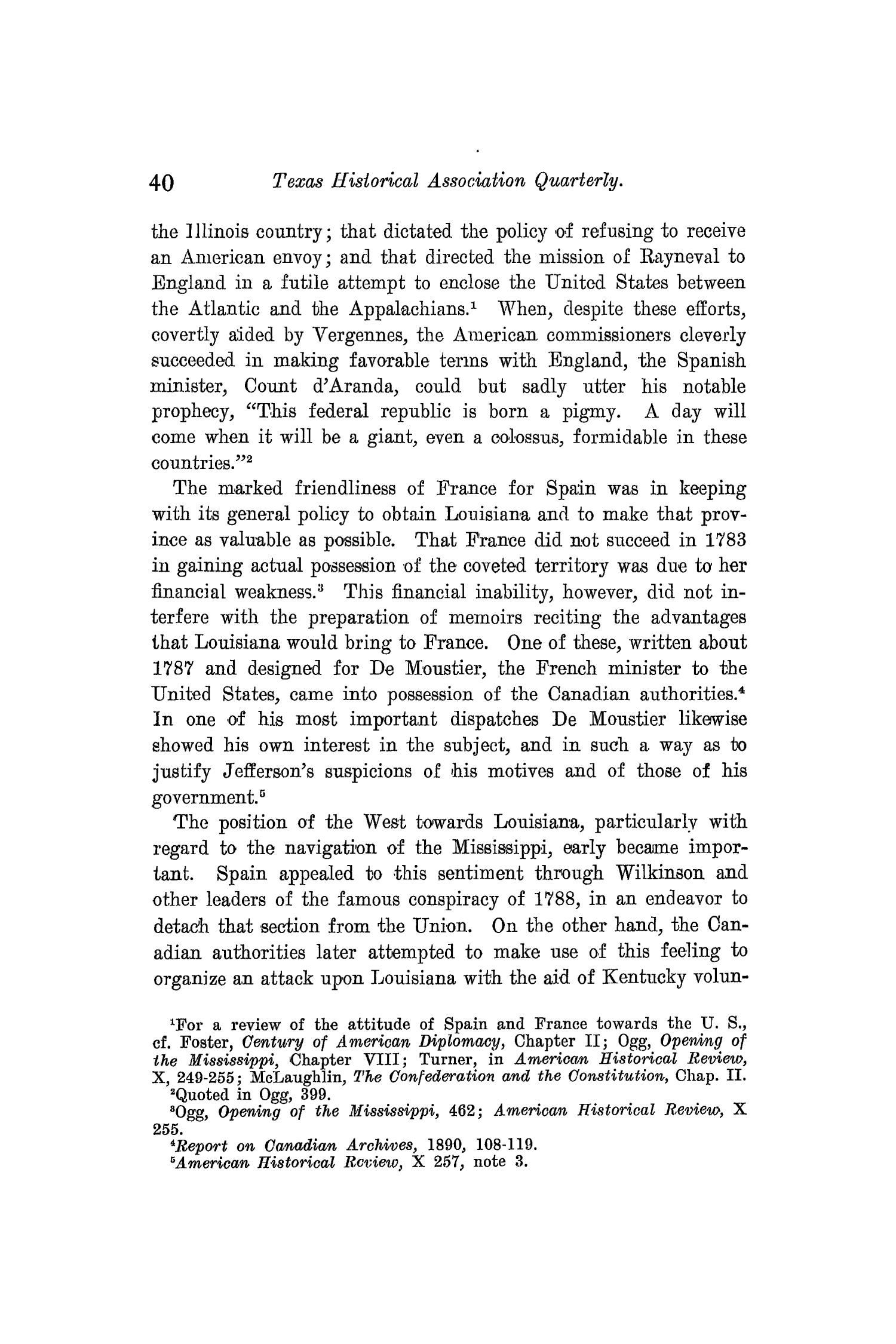 The Quarterly of the Texas State Historical Association, Volume 10, July 1906 - April, 1907                                                                                                      40
