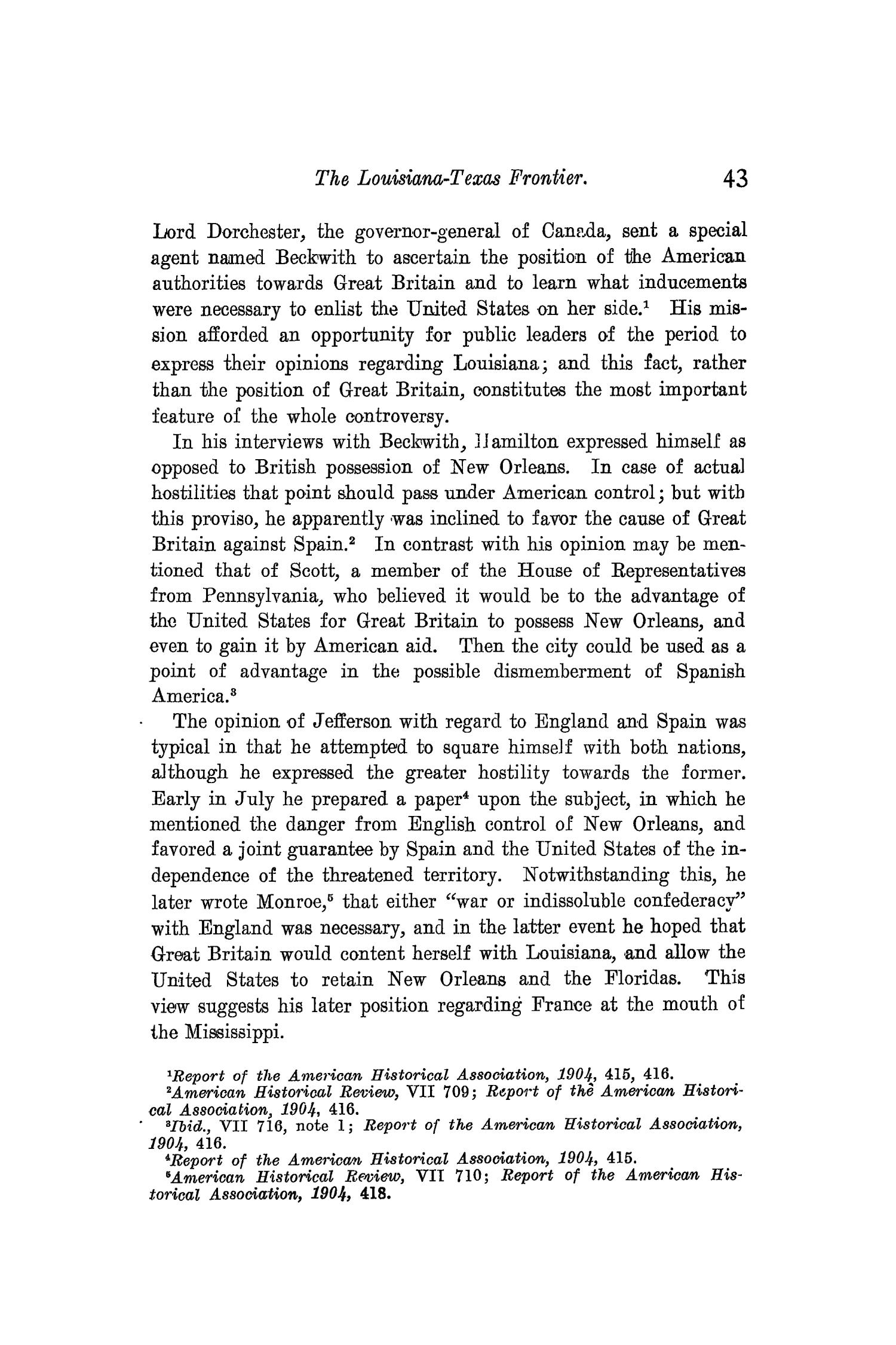 The Quarterly of the Texas State Historical Association, Volume 10, July 1906 - April, 1907                                                                                                      43