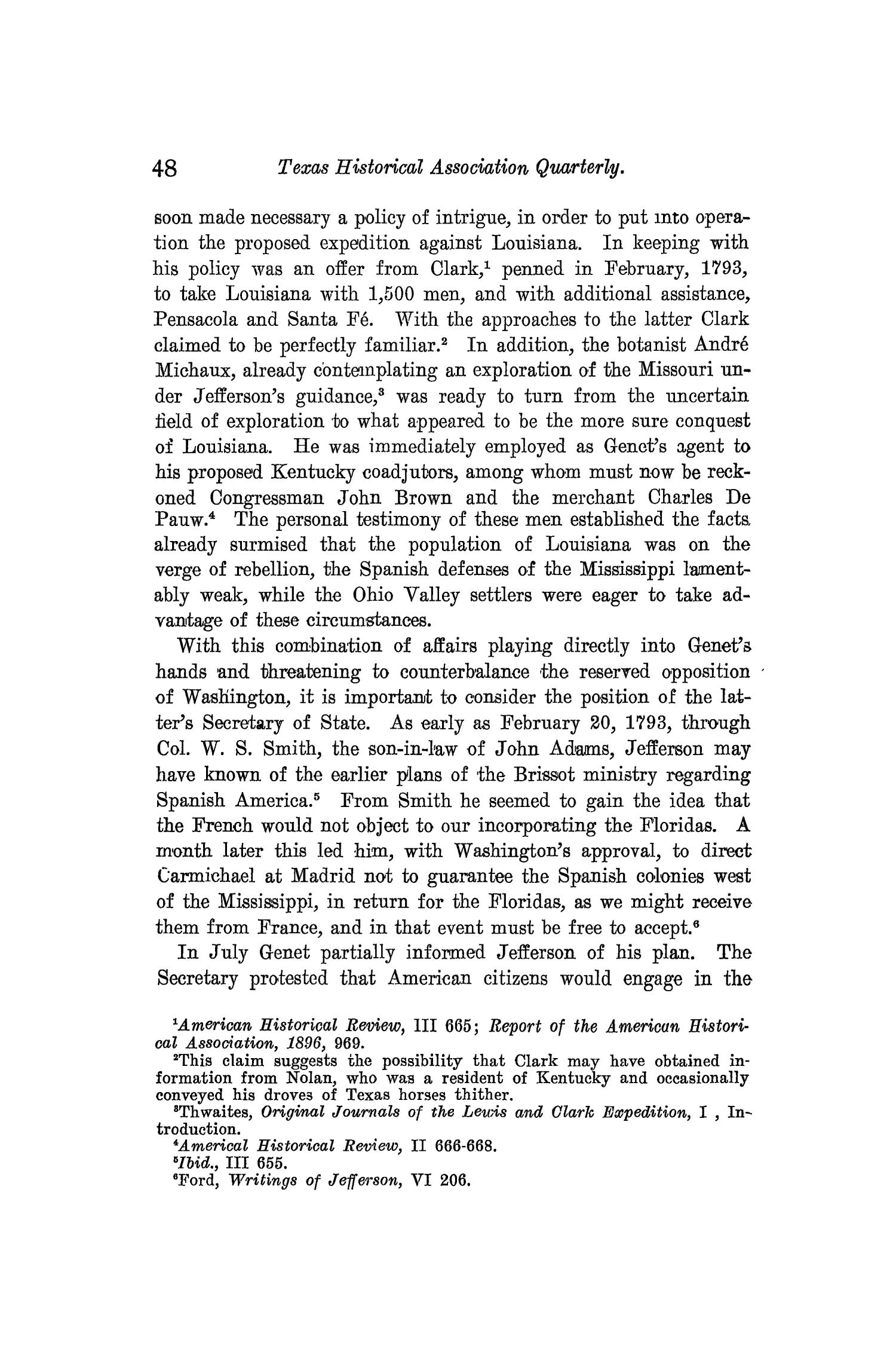 The Quarterly of the Texas State Historical Association, Volume 10, July 1906 - April, 1907                                                                                                      48