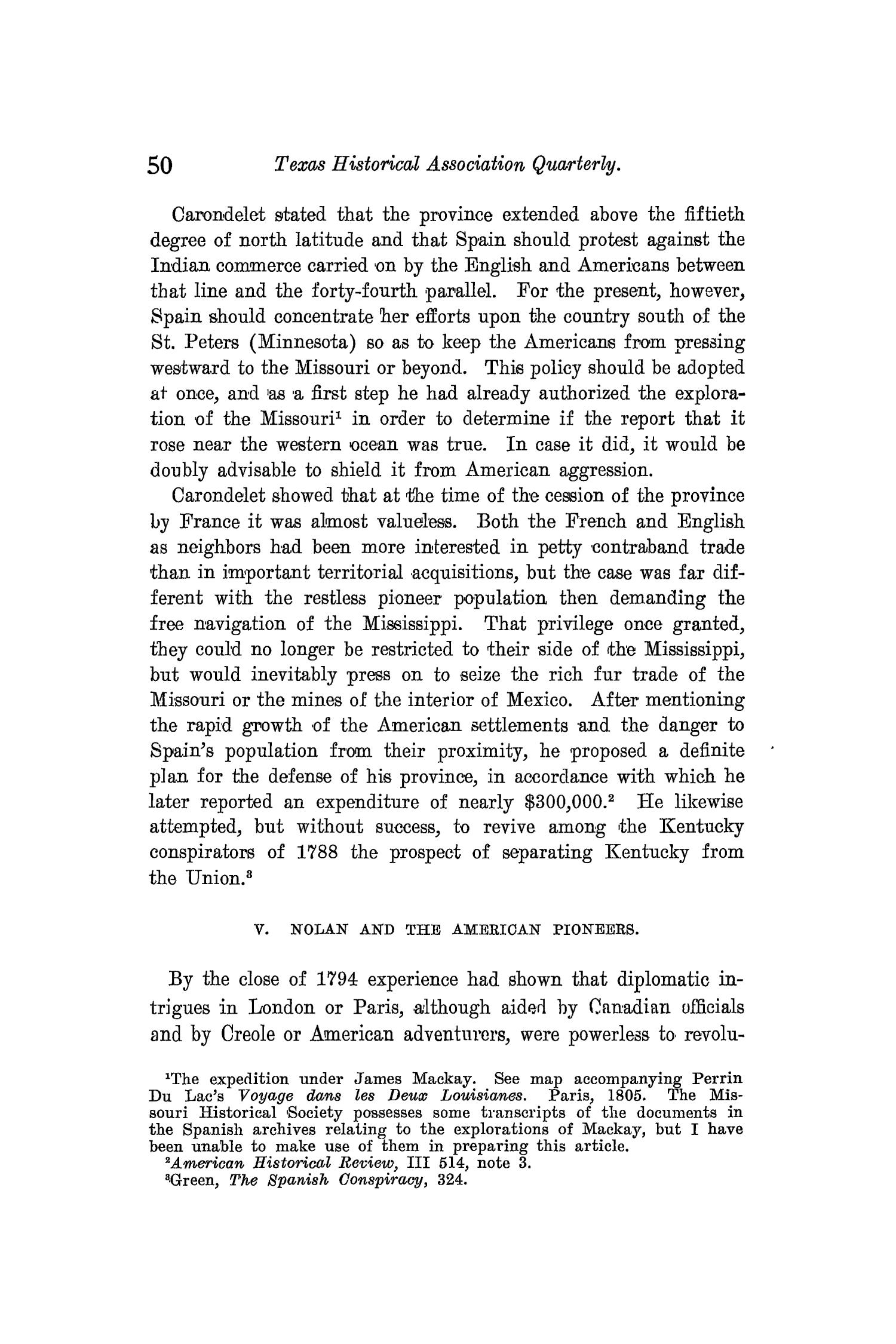 The Quarterly of the Texas State Historical Association, Volume 10, July 1906 - April, 1907                                                                                                      50