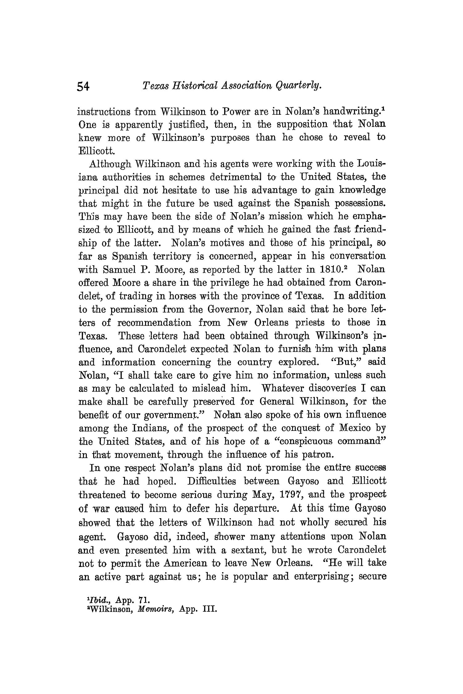 The Quarterly of the Texas State Historical Association, Volume 10, July 1906 - April, 1907                                                                                                      54