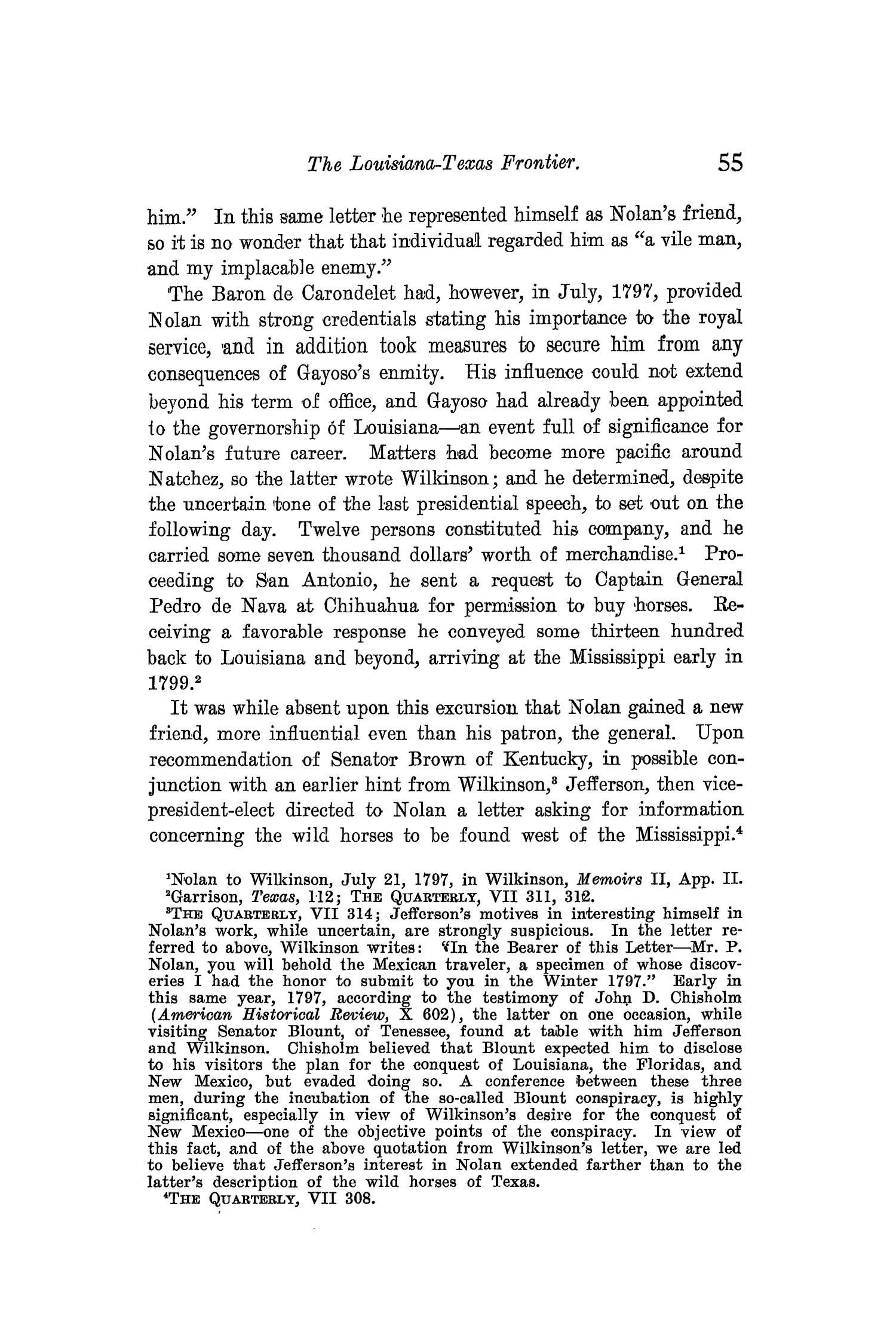The Quarterly of the Texas State Historical Association, Volume 10, July 1906 - April, 1907                                                                                                      55