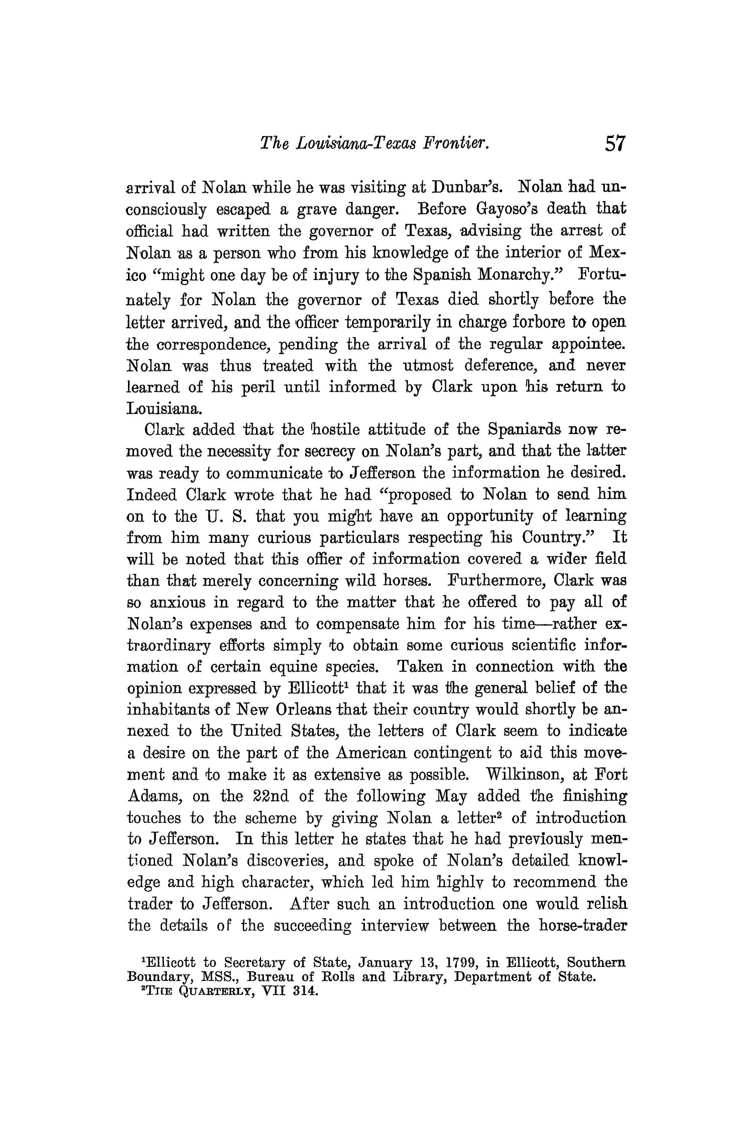 The Quarterly of the Texas State Historical Association, Volume 10, July 1906 - April, 1907                                                                                                      57