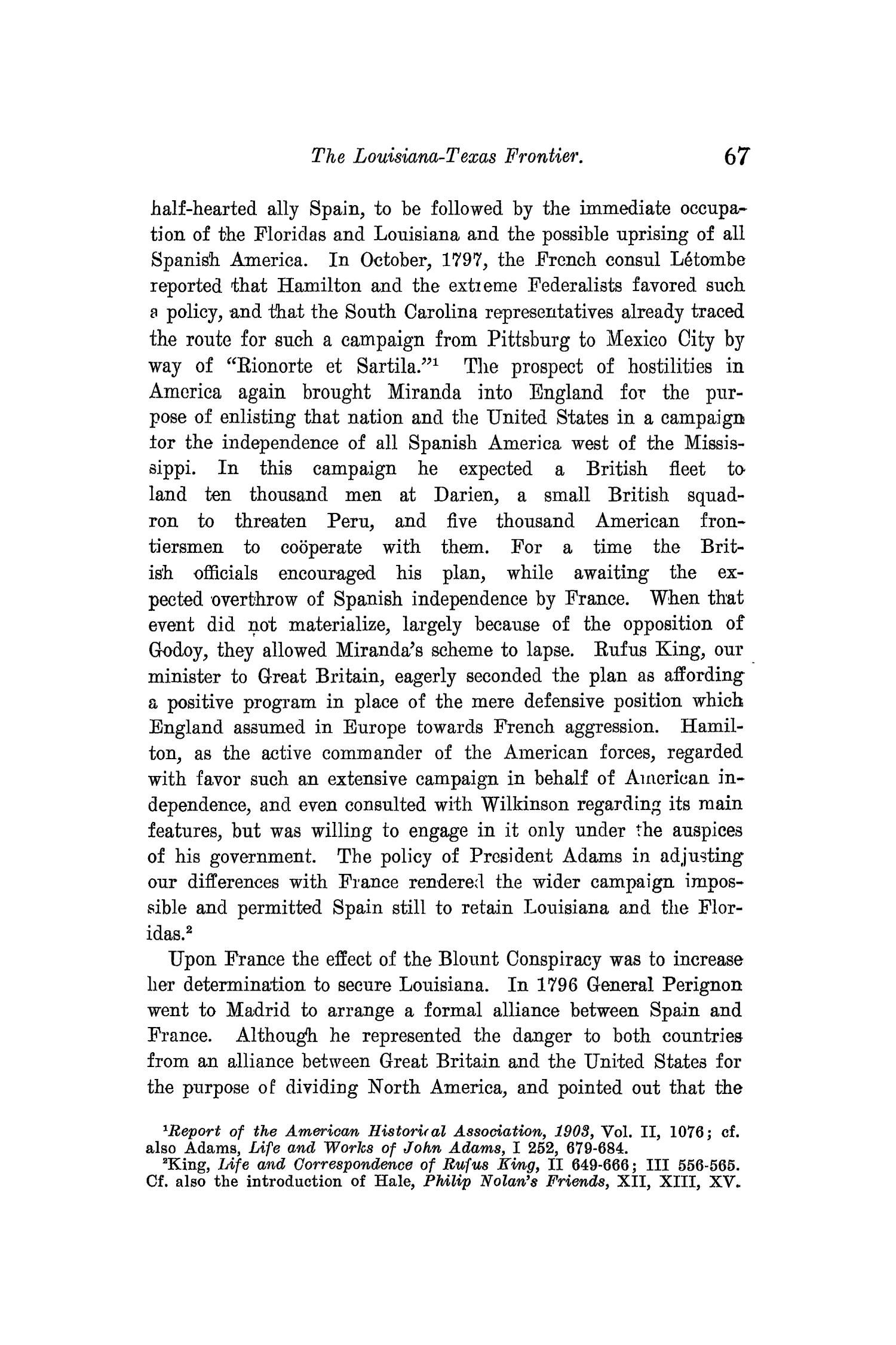 The Quarterly of the Texas State Historical Association, Volume 10, July 1906 - April, 1907                                                                                                      67