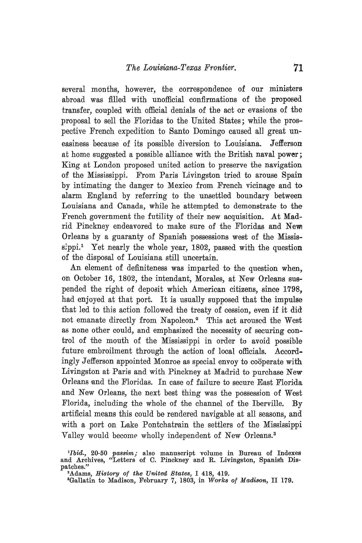 The Quarterly of the Texas State Historical Association, Volume 10, July 1906 - April, 1907                                                                                                      71