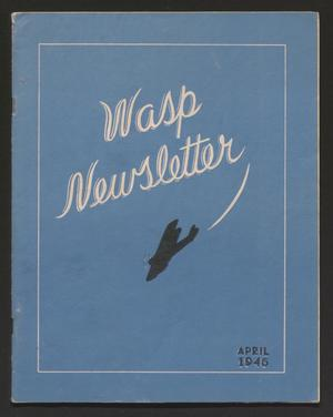 Primary view of object titled 'WASP Newsletter, Volume 3, Number 2, April 1946'.