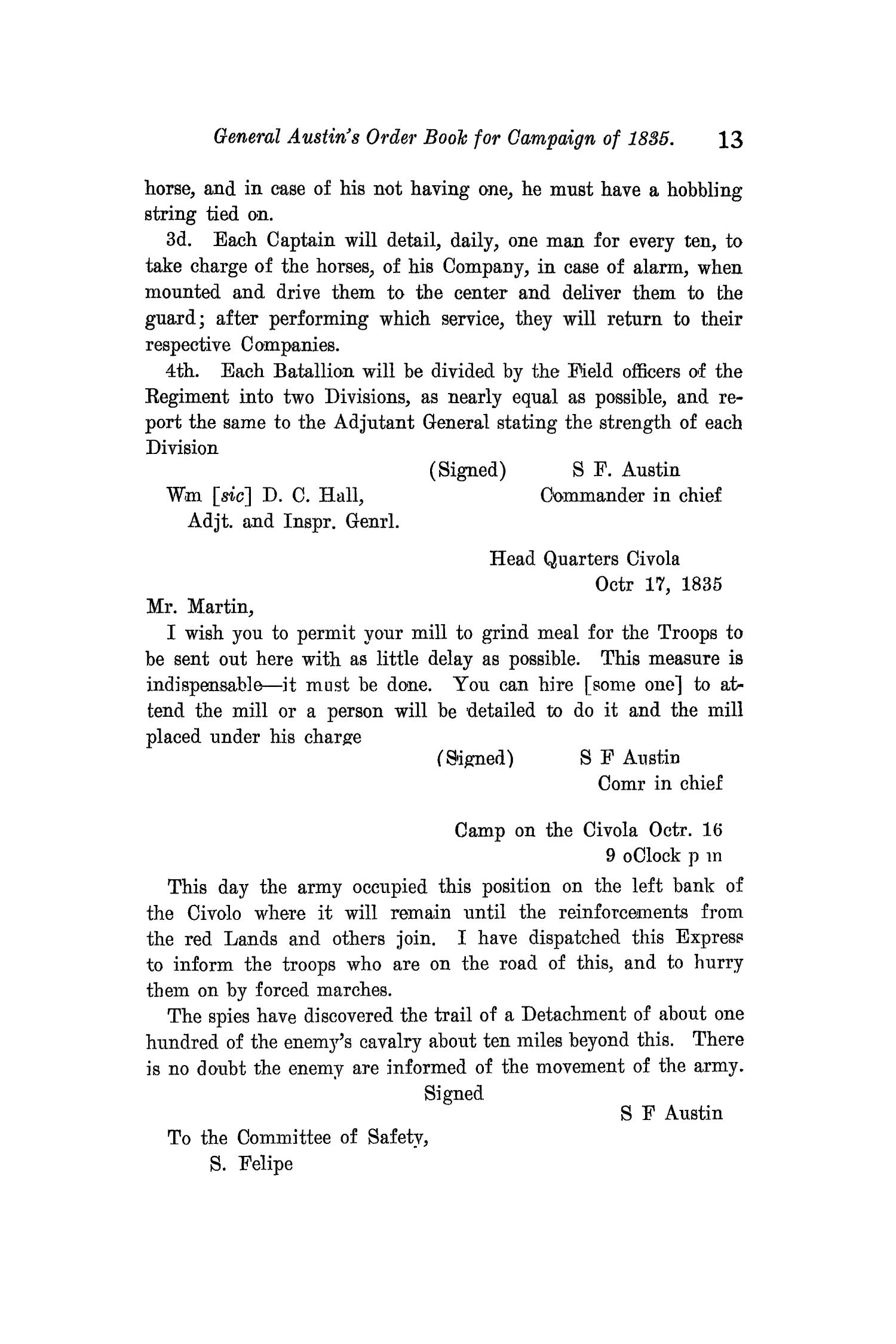 The Quarterly of the Texas State Historical Association, Volume 11, July 1907 - April, 1908                                                                                                      13