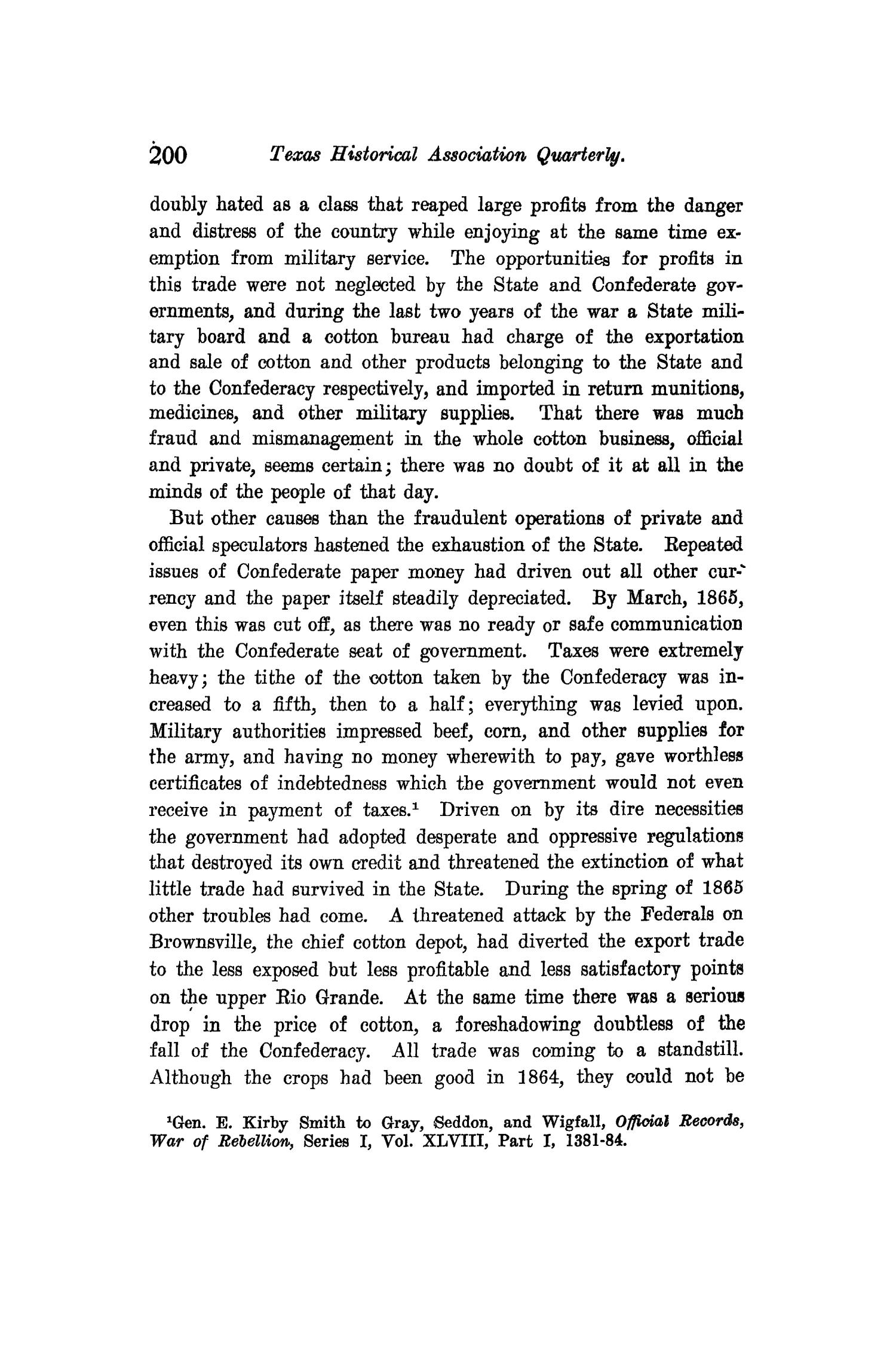 The Quarterly of the Texas State Historical Association, Volume 11, July 1907 - April, 1908                                                                                                      200