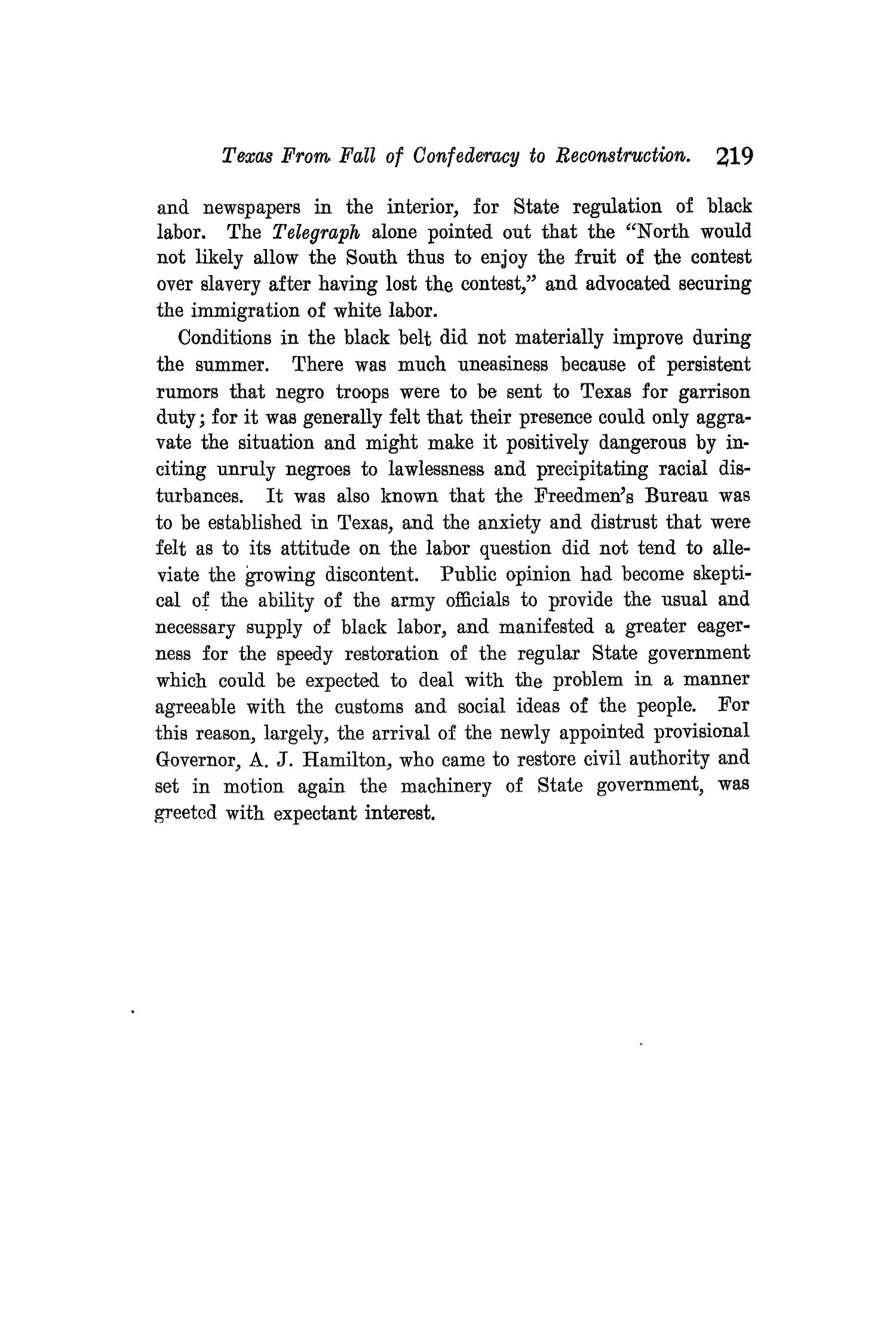 The Quarterly of the Texas State Historical Association, Volume 11, July 1907 - April, 1908                                                                                                      219