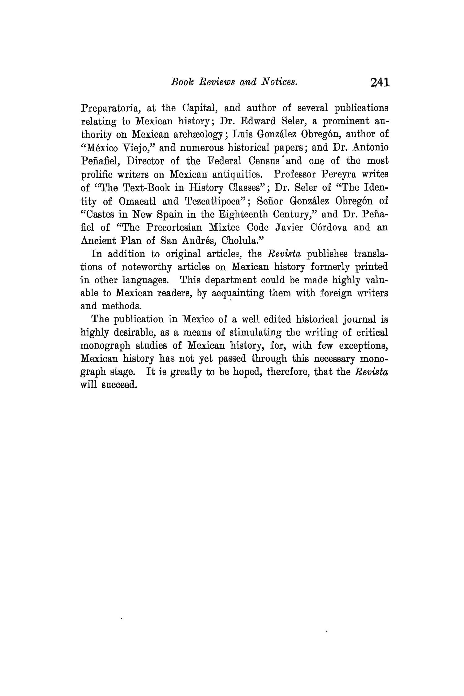 The Quarterly of the Texas State Historical Association, Volume 11, July 1907 - April, 1908                                                                                                      241