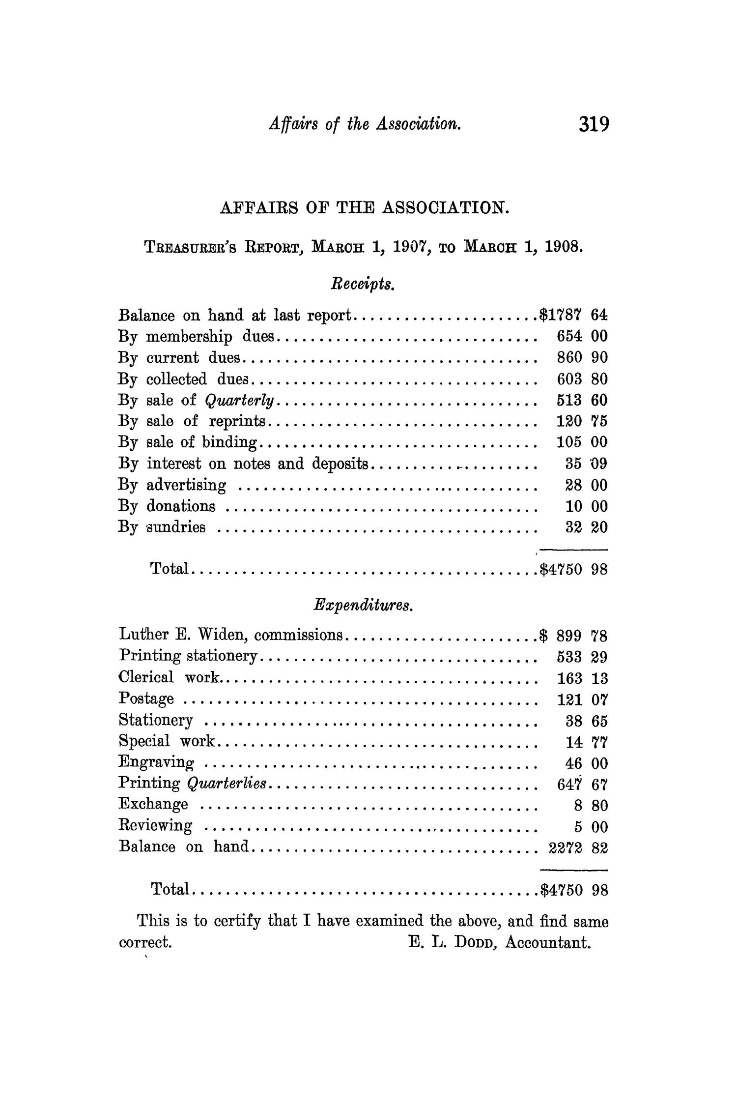 The Quarterly of the Texas State Historical Association, Volume 11, July 1907 - April, 1908                                                                                                      319