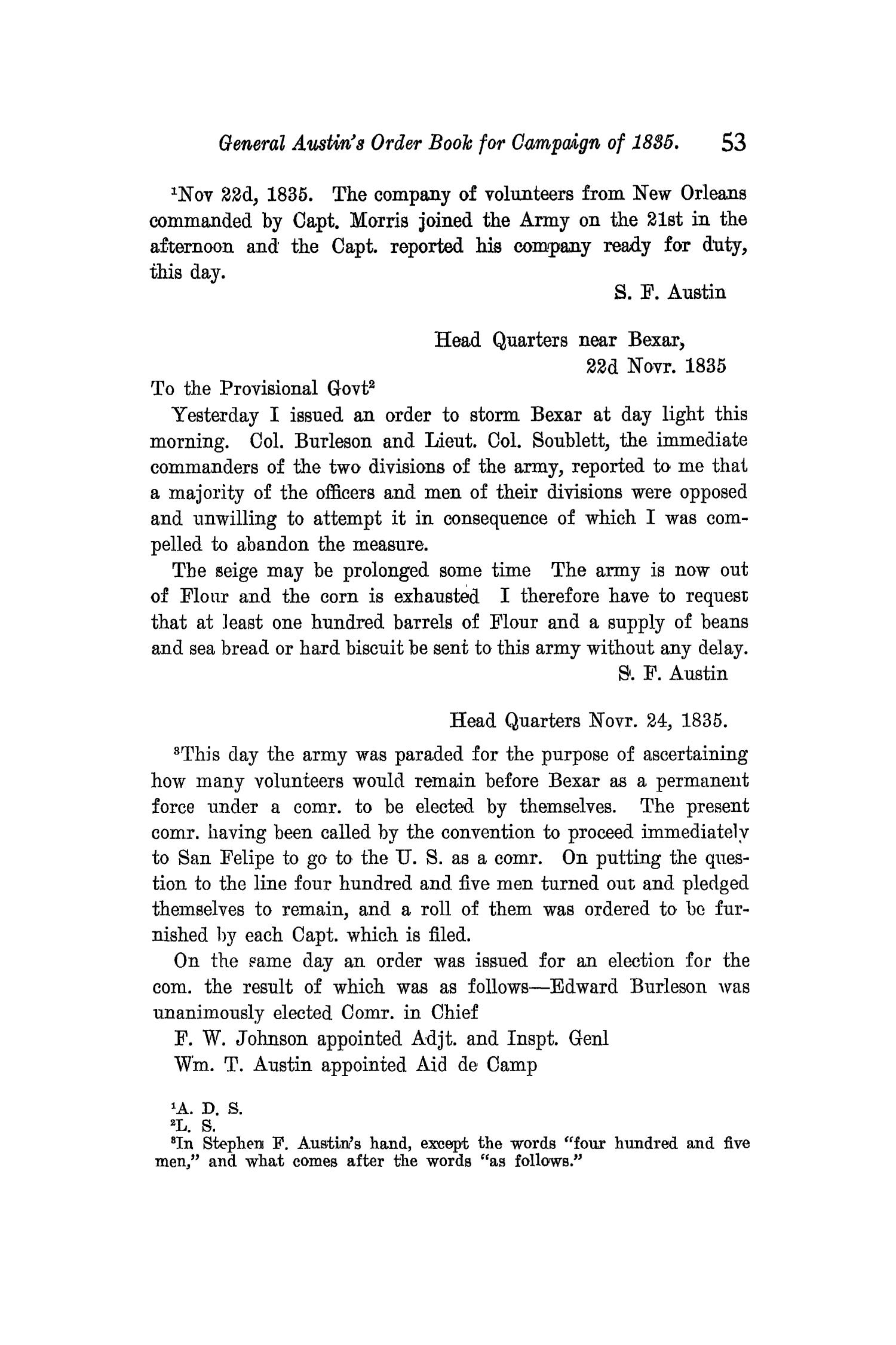 The Quarterly of the Texas State Historical Association, Volume 11, July 1907 - April, 1908                                                                                                      53