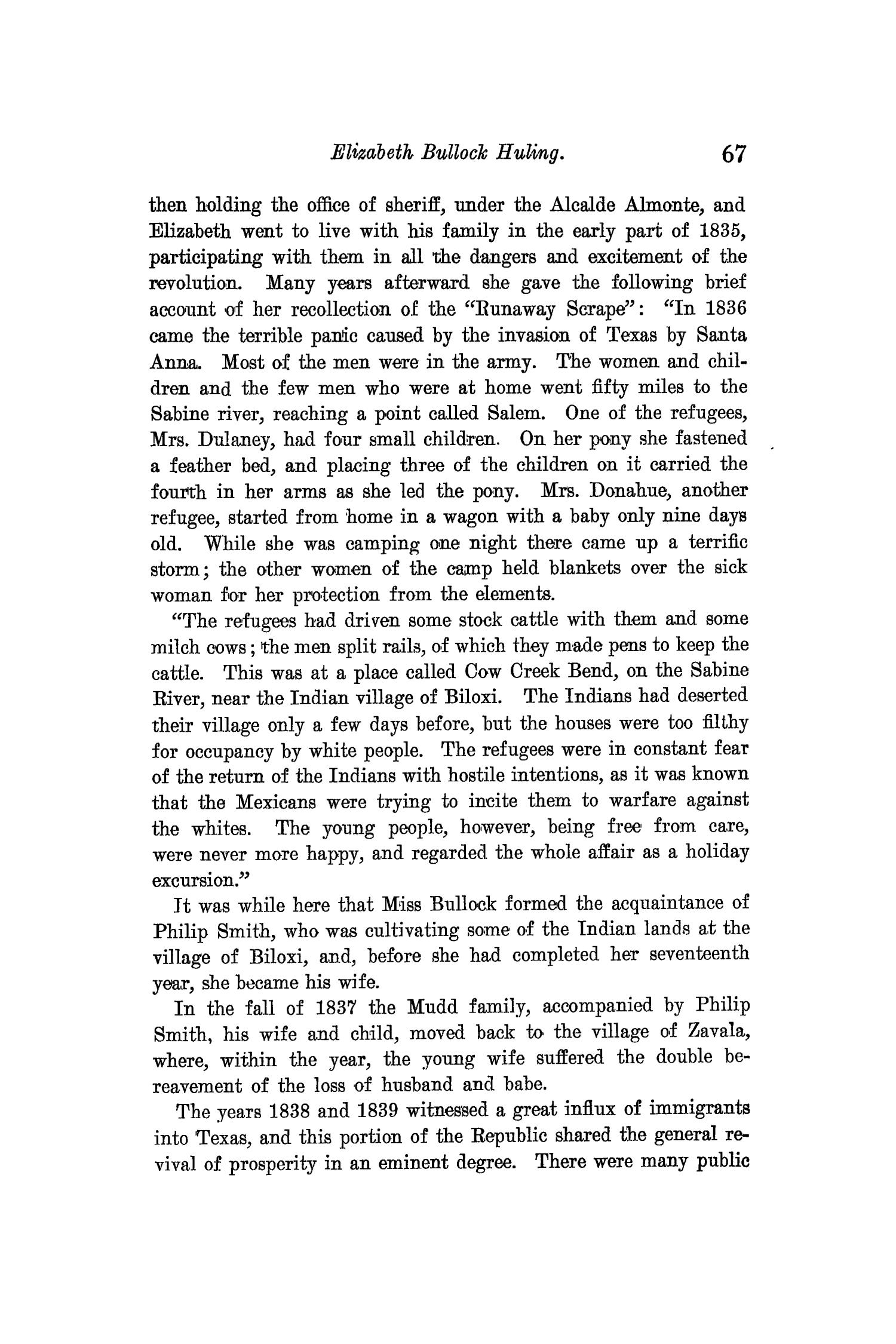 The Quarterly of the Texas State Historical Association, Volume 11, July 1907 - April, 1908                                                                                                      67