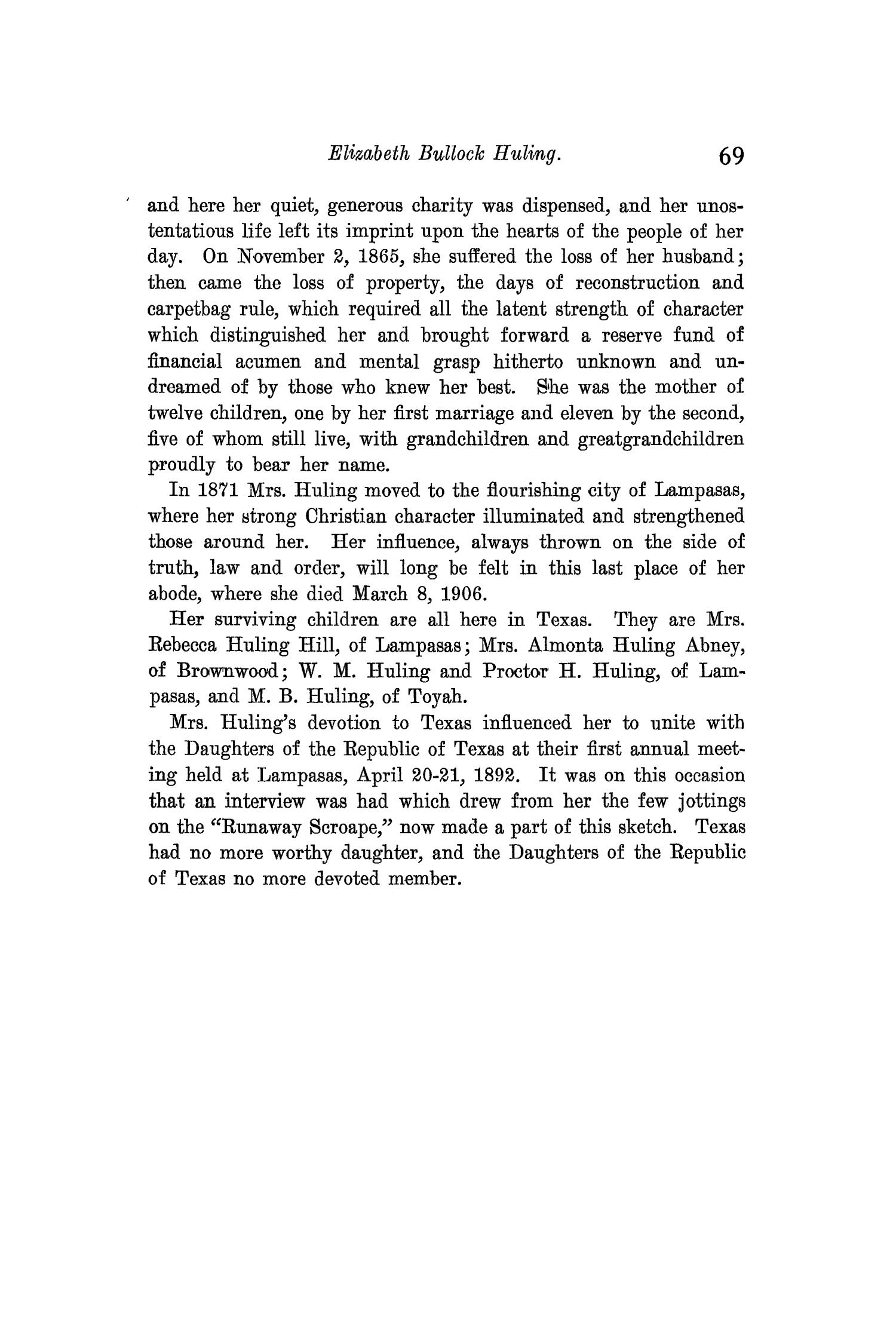The Quarterly of the Texas State Historical Association, Volume 11, July 1907 - April, 1908                                                                                                      69