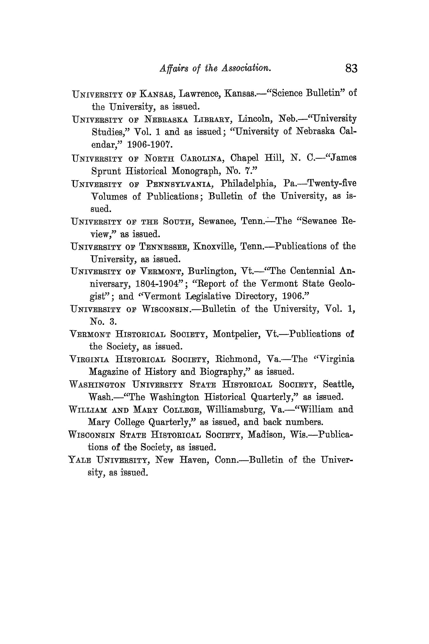 The Quarterly of the Texas State Historical Association, Volume 11, July 1907 - April, 1908                                                                                                      83