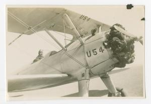 Primary view of object titled '[WASP Trainee in a PT-17 #2]'.