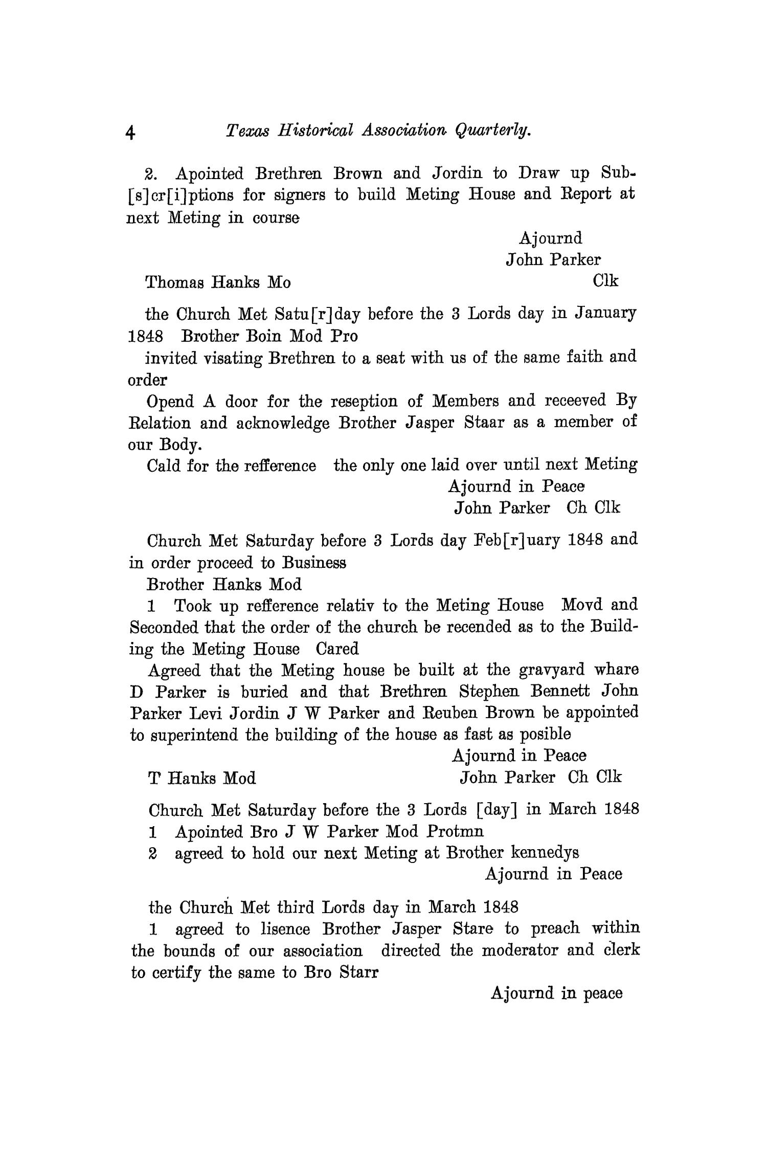 The Quarterly of the Texas State Historical Association, Volume 12, July 1908 - April, 1909                                                                                                      4