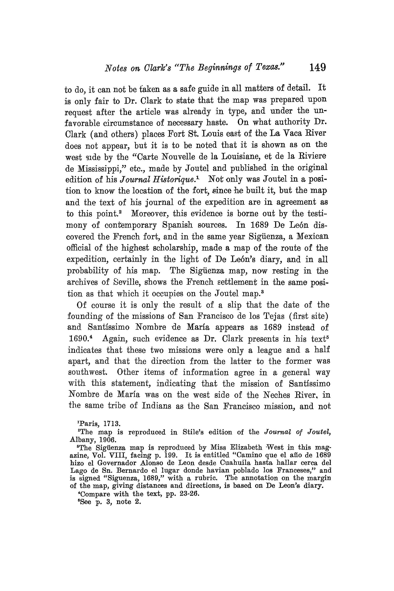The Quarterly of the Texas State Historical Association, Volume 12, July 1908 - April, 1909                                                                                                      149