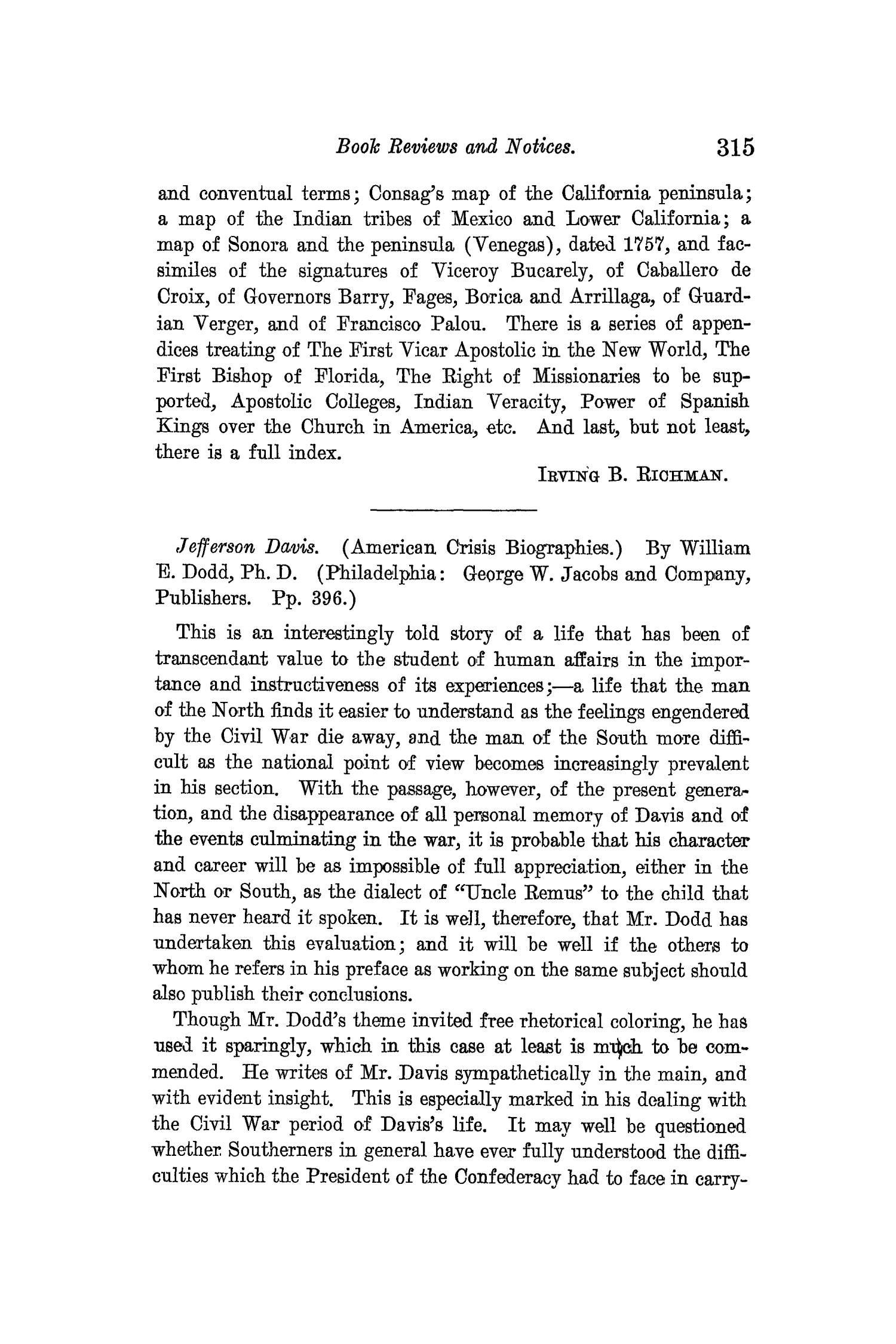 The Quarterly of the Texas State Historical Association, Volume 12, July 1908 - April, 1909                                                                                                      315