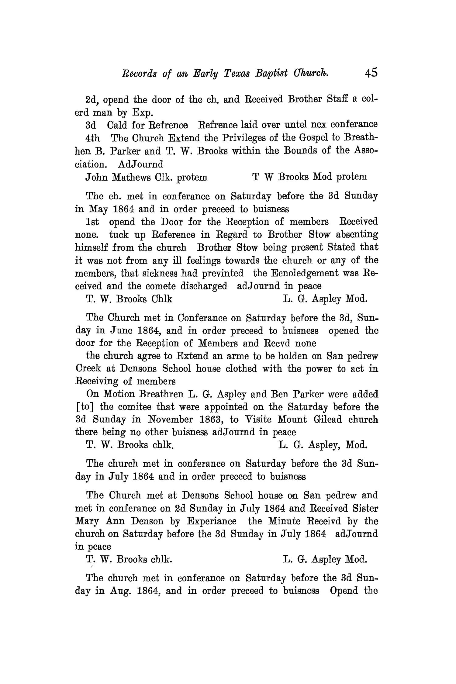 The Quarterly of the Texas State Historical Association, Volume 12, July 1908 - April, 1909                                                                                                      45