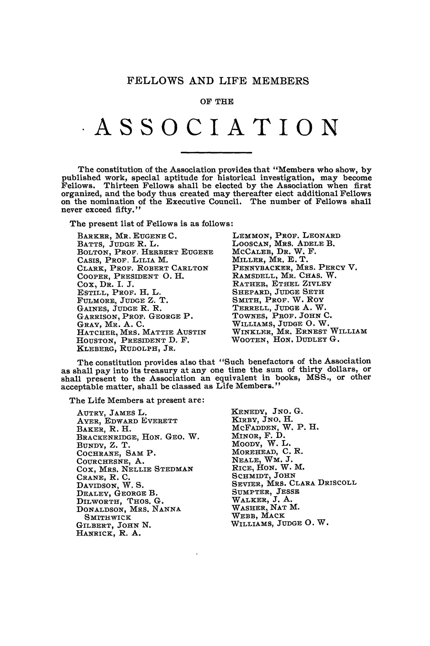The Quarterly of the Texas State Historical Association, Volume 12, July 1908 - April, 1909                                                                                                      None