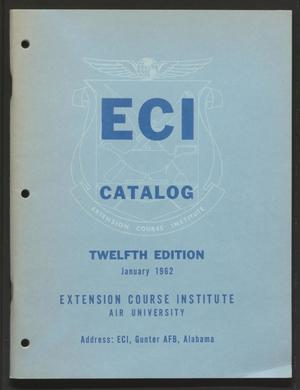 Primary view of object titled 'Catalog of United States Air Force Correspondence Courses'.