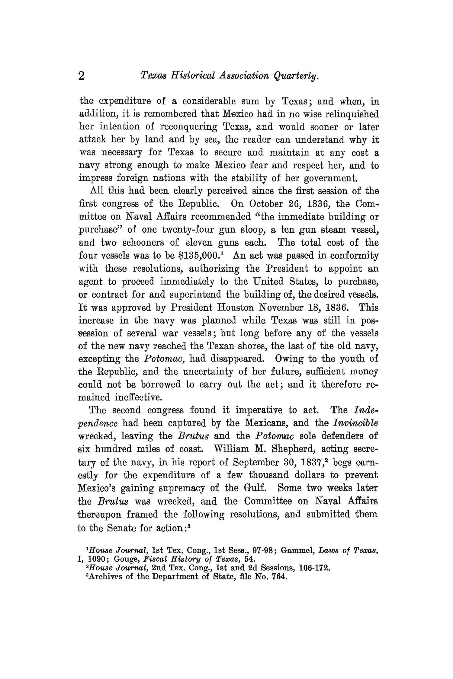 The Quarterly of the Texas State Historical Association, Volume 13, July 1909 - April, 1910                                                                                                      2
