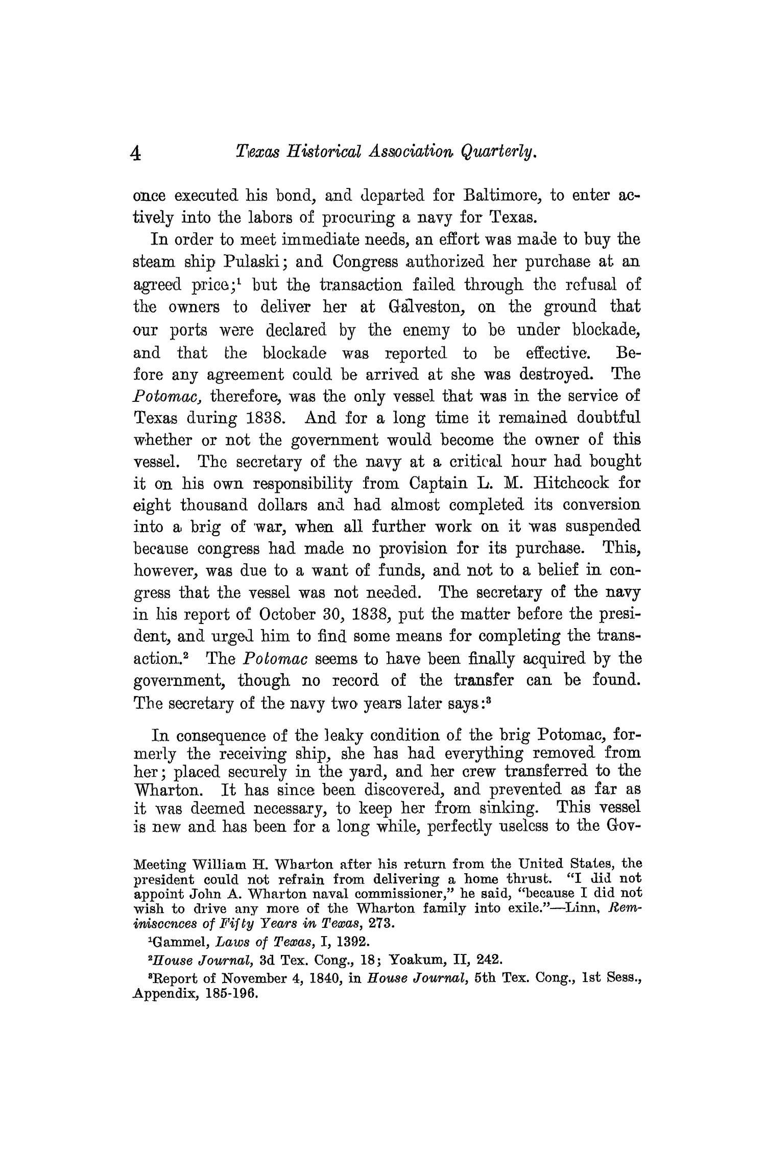 The Quarterly of the Texas State Historical Association, Volume 13, July 1909 - April, 1910                                                                                                      4
