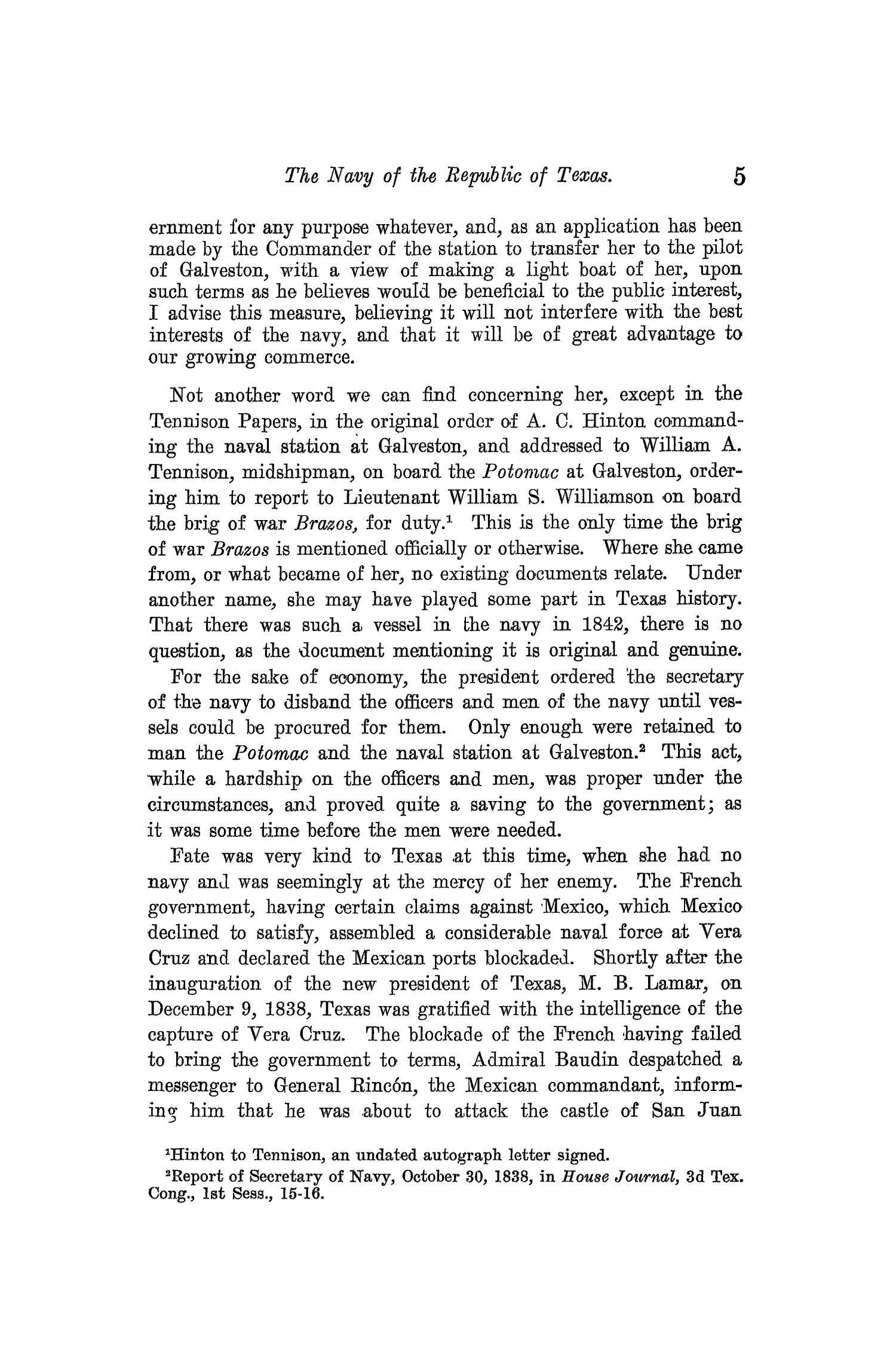 The Quarterly of the Texas State Historical Association, Volume 13, July 1909 - April, 1910                                                                                                      5