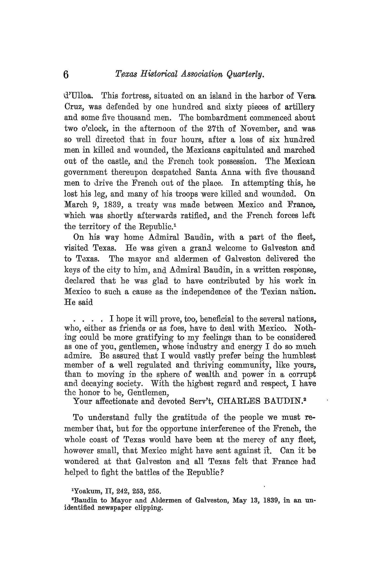 The Quarterly of the Texas State Historical Association, Volume 13, July 1909 - April, 1910                                                                                                      6