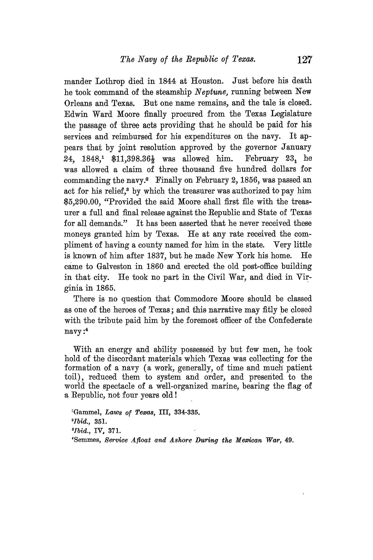 The Quarterly of the Texas State Historical Association, Volume 13, July 1909 - April, 1910                                                                                                      127