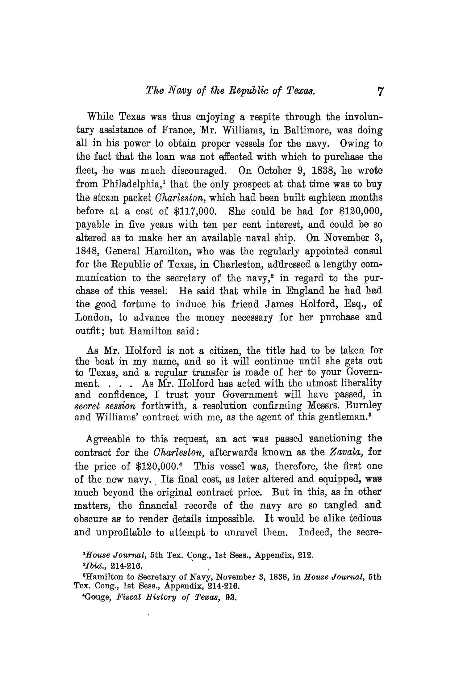 The Quarterly of the Texas State Historical Association, Volume 13, July 1909 - April, 1910                                                                                                      7