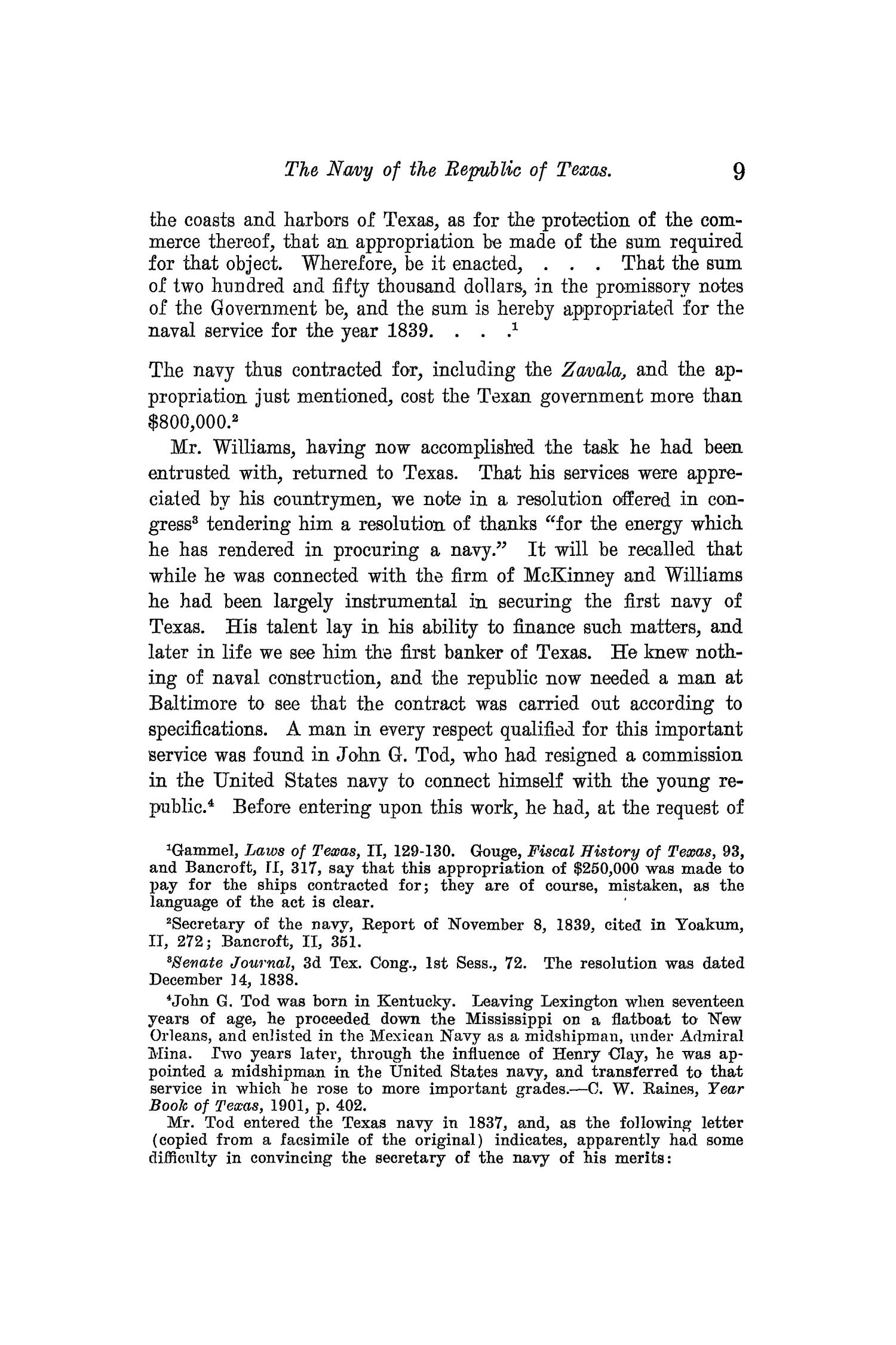 The Quarterly of the Texas State Historical Association, Volume 13, July 1909 - April, 1910                                                                                                      9