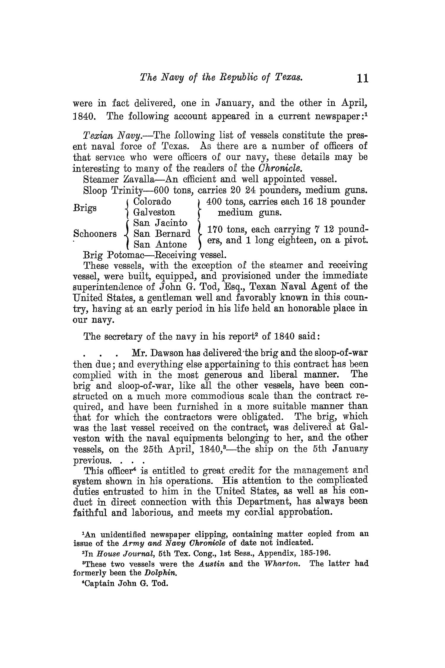 The Quarterly of the Texas State Historical Association, Volume 13, July 1909 - April, 1910                                                                                                      11