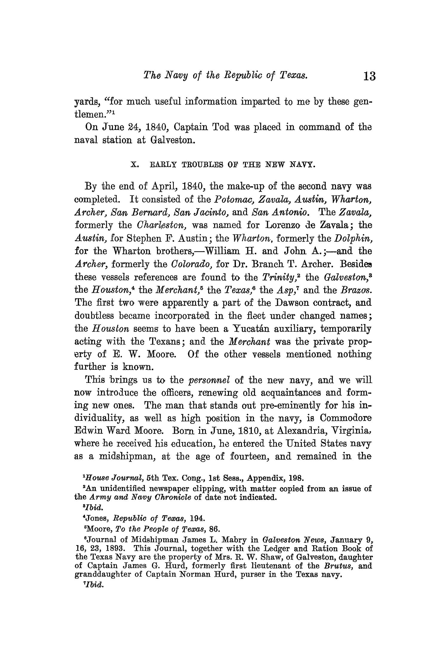 The Quarterly of the Texas State Historical Association, Volume 13, July 1909 - April, 1910                                                                                                      13