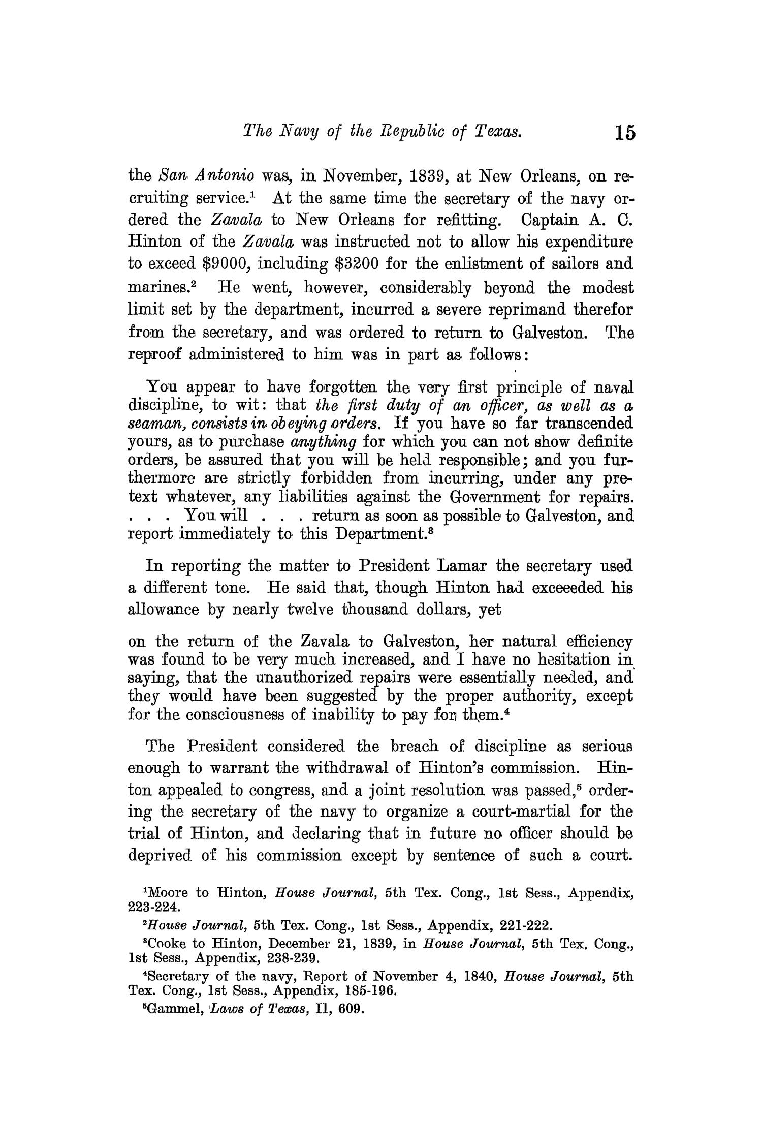 The Quarterly of the Texas State Historical Association, Volume 13, July 1909 - April, 1910                                                                                                      15