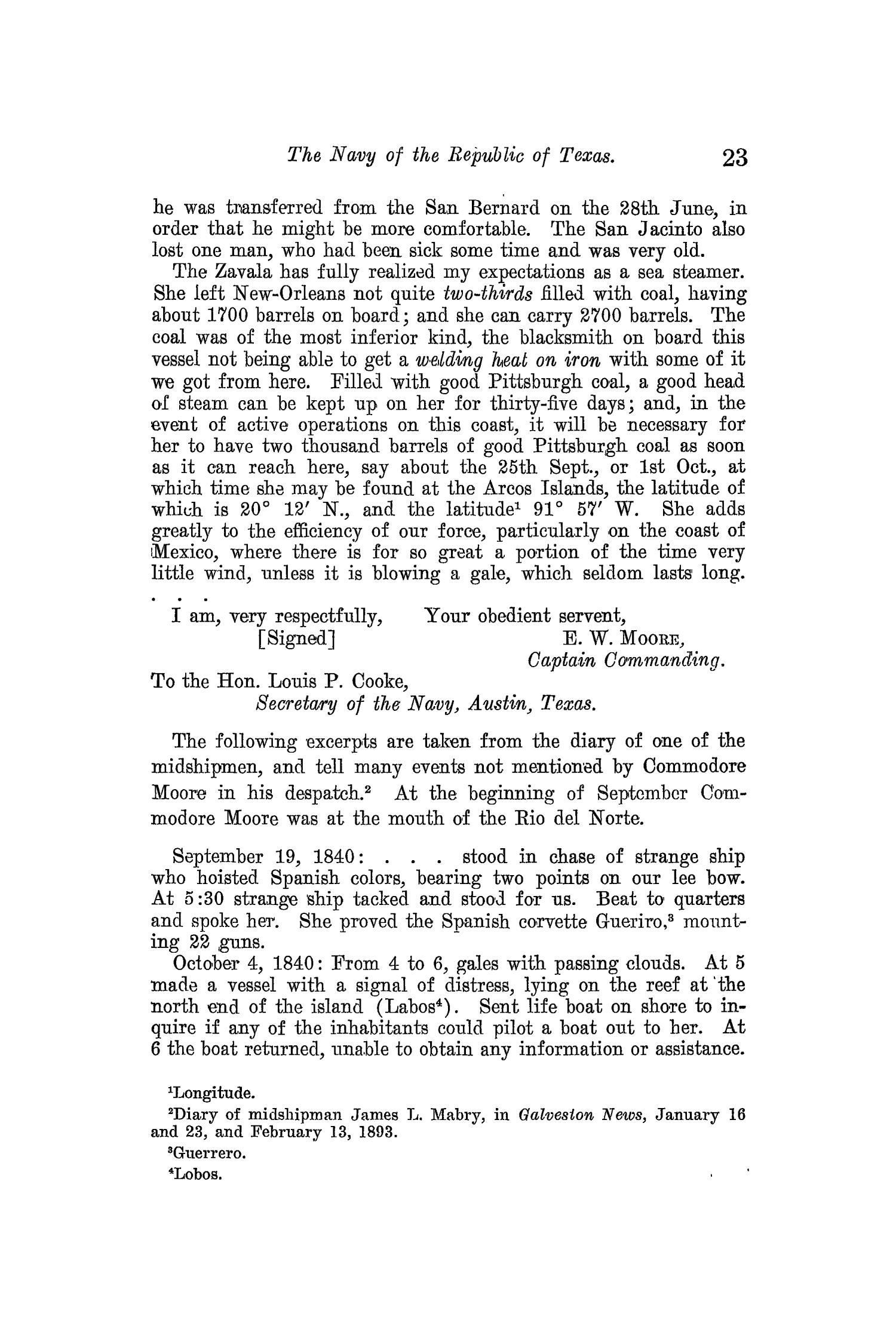 The Quarterly of the Texas State Historical Association, Volume 13, July 1909 - April, 1910                                                                                                      23