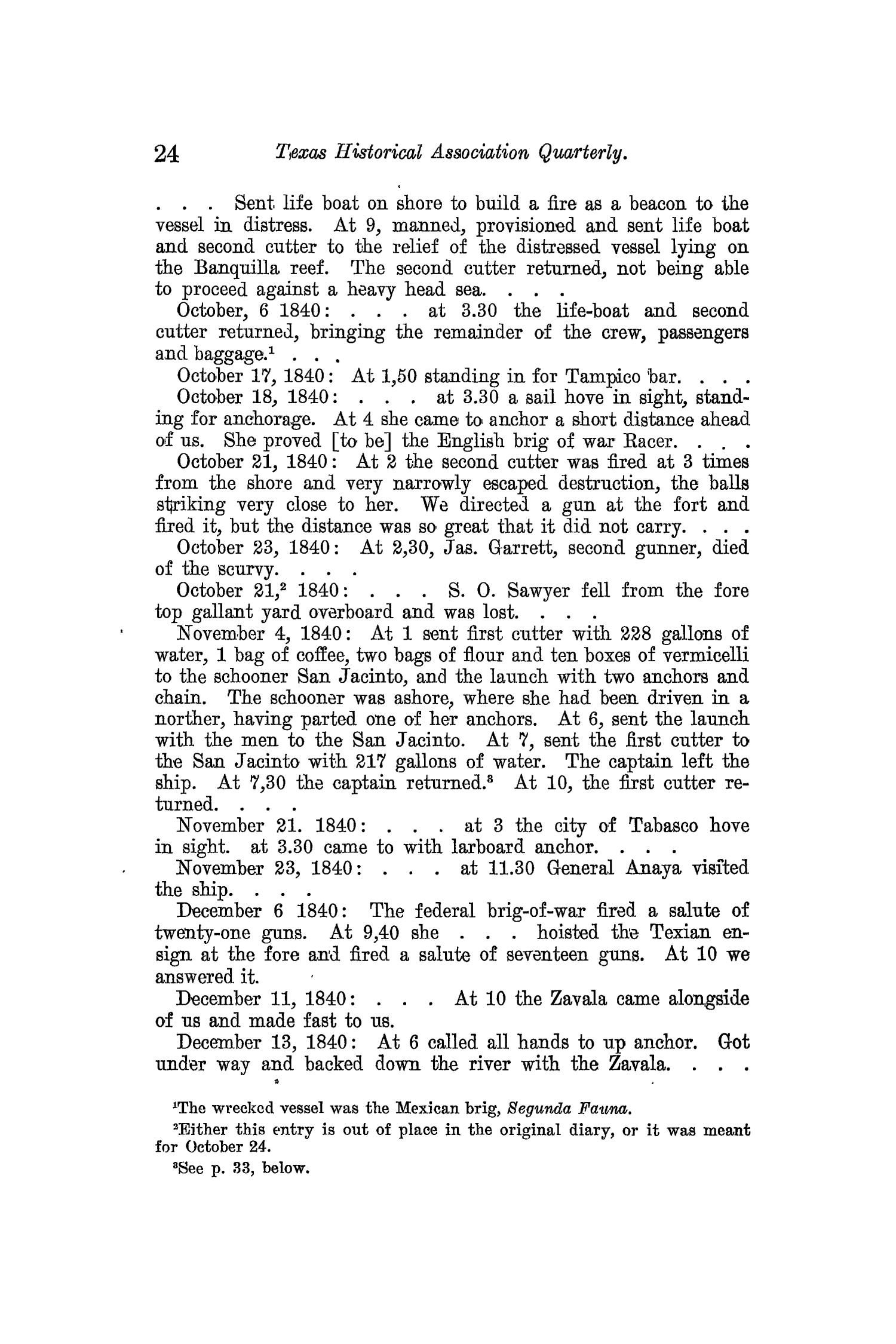 The Quarterly of the Texas State Historical Association, Volume 13, July 1909 - April, 1910                                                                                                      24