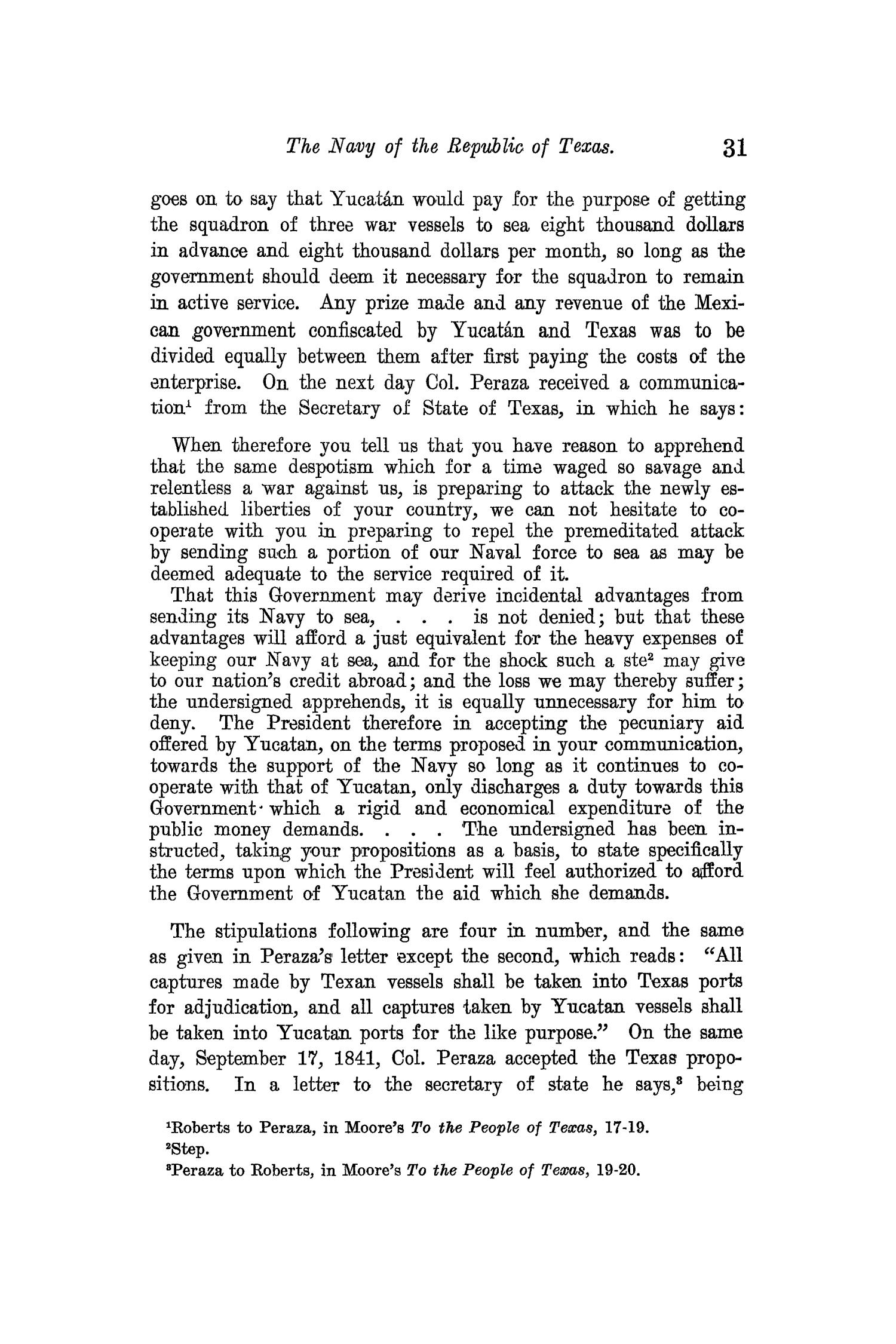 The Quarterly of the Texas State Historical Association, Volume 13, July 1909 - April, 1910                                                                                                      31