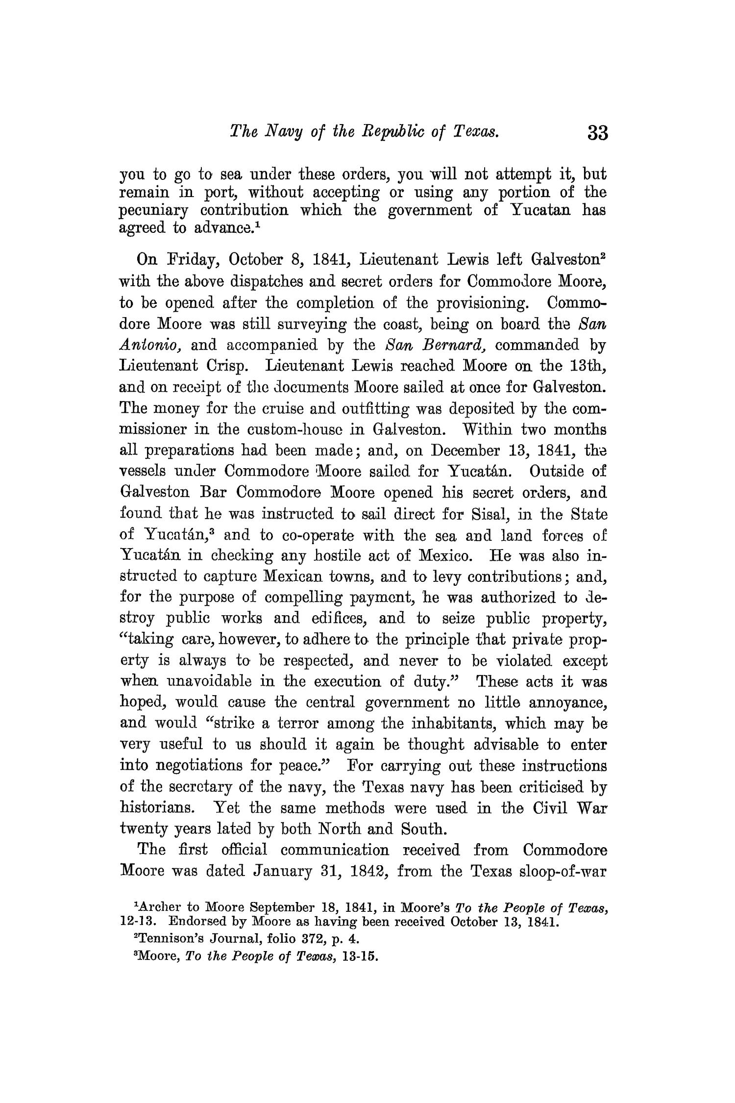 The Quarterly of the Texas State Historical Association, Volume 13, July 1909 - April, 1910                                                                                                      33