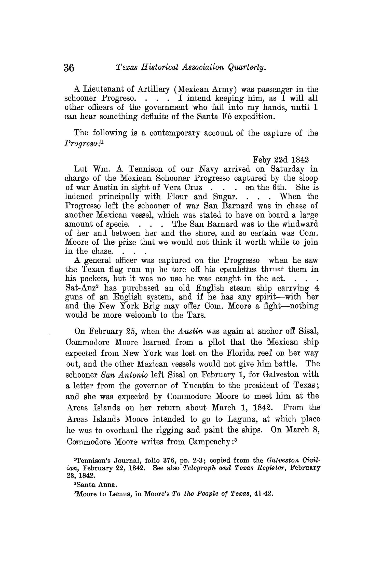 The Quarterly of the Texas State Historical Association, Volume 13, July 1909 - April, 1910                                                                                                      36
