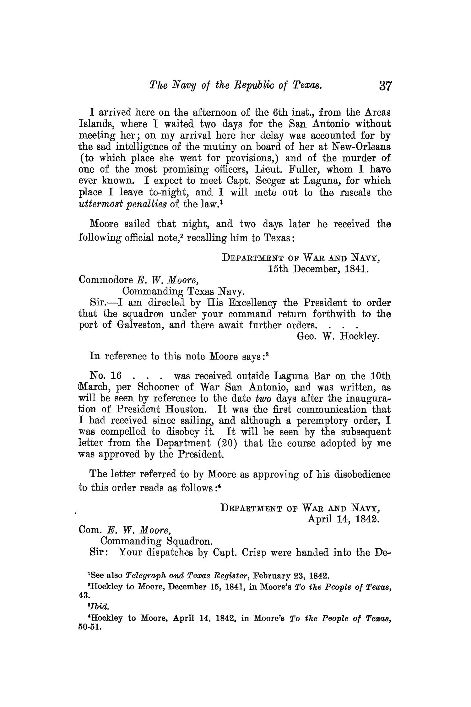 The Quarterly of the Texas State Historical Association, Volume 13, July 1909 - April, 1910                                                                                                      37