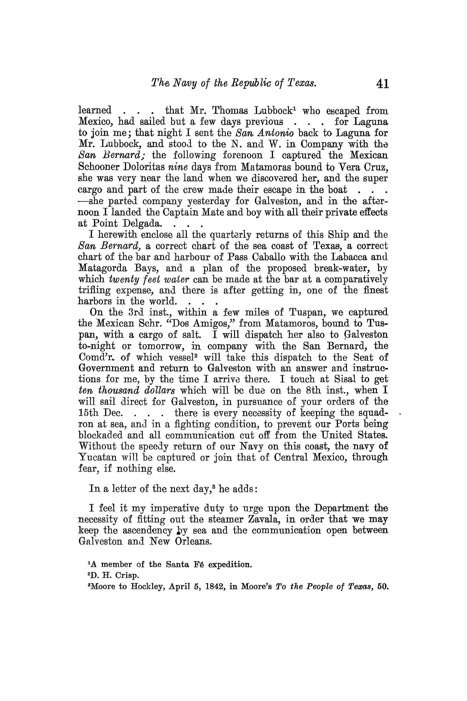 The Quarterly of the Texas State Historical Association, Volume 13, July 1909 - April, 1910                                                                                                      41