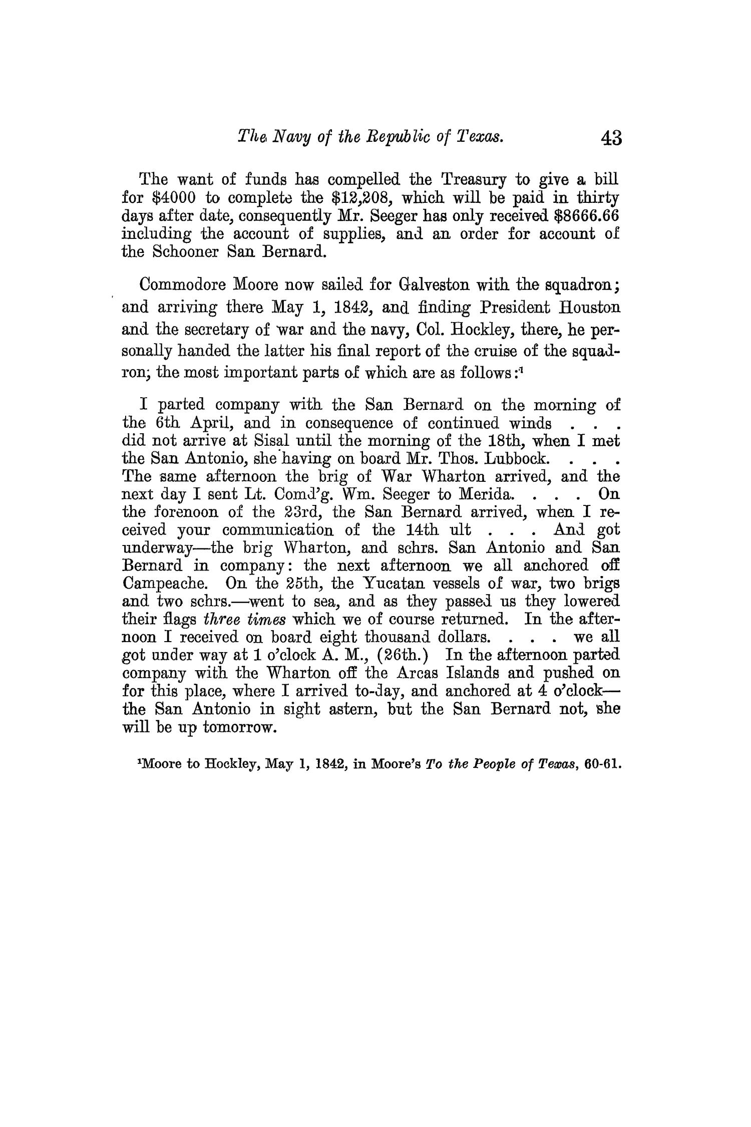 The Quarterly of the Texas State Historical Association, Volume 13, July 1909 - April, 1910                                                                                                      43