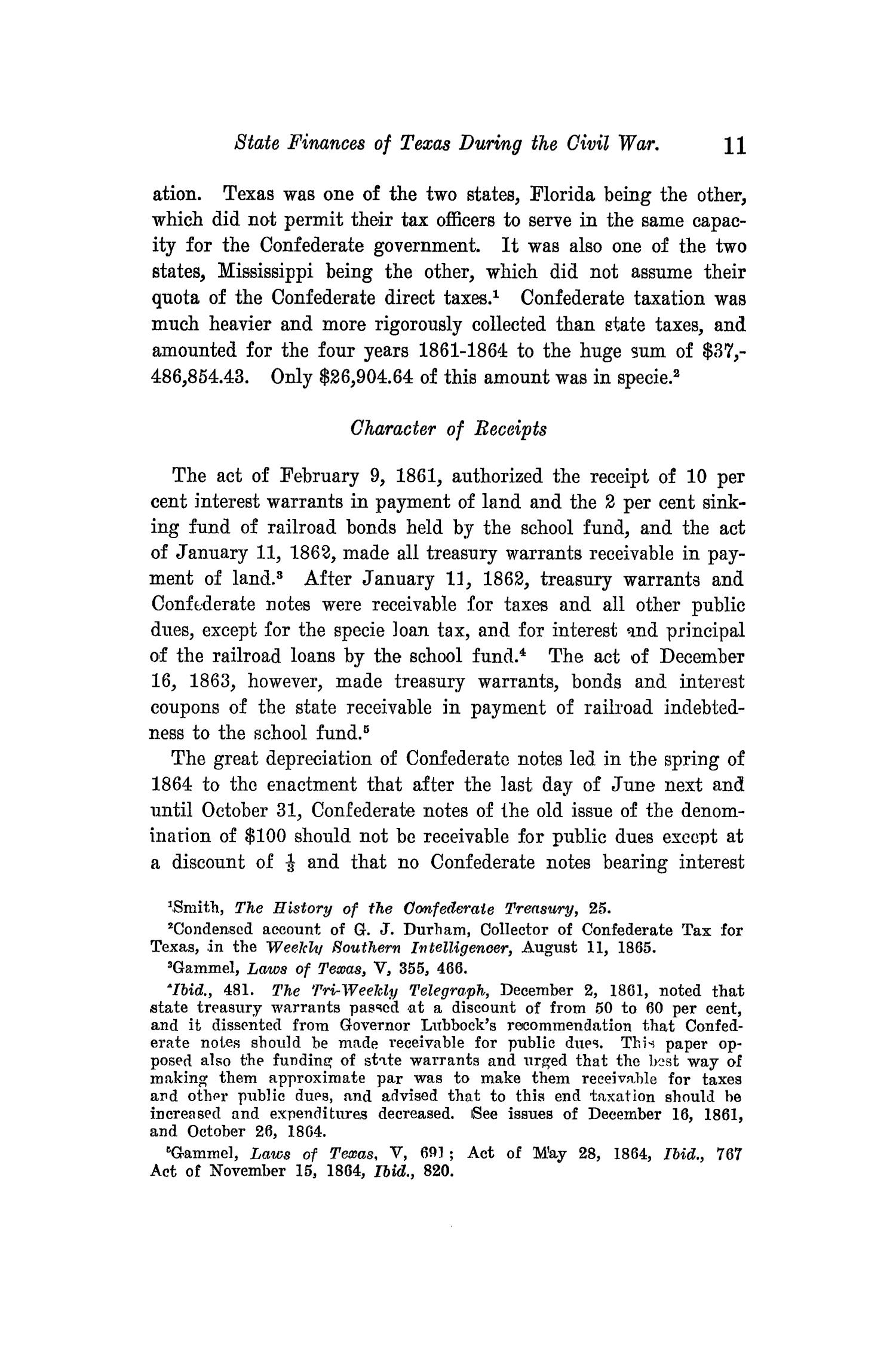 The Quarterly of the Texas State Historical Association, Volume 14, July 1910 - April, 1911                                                                                                      11