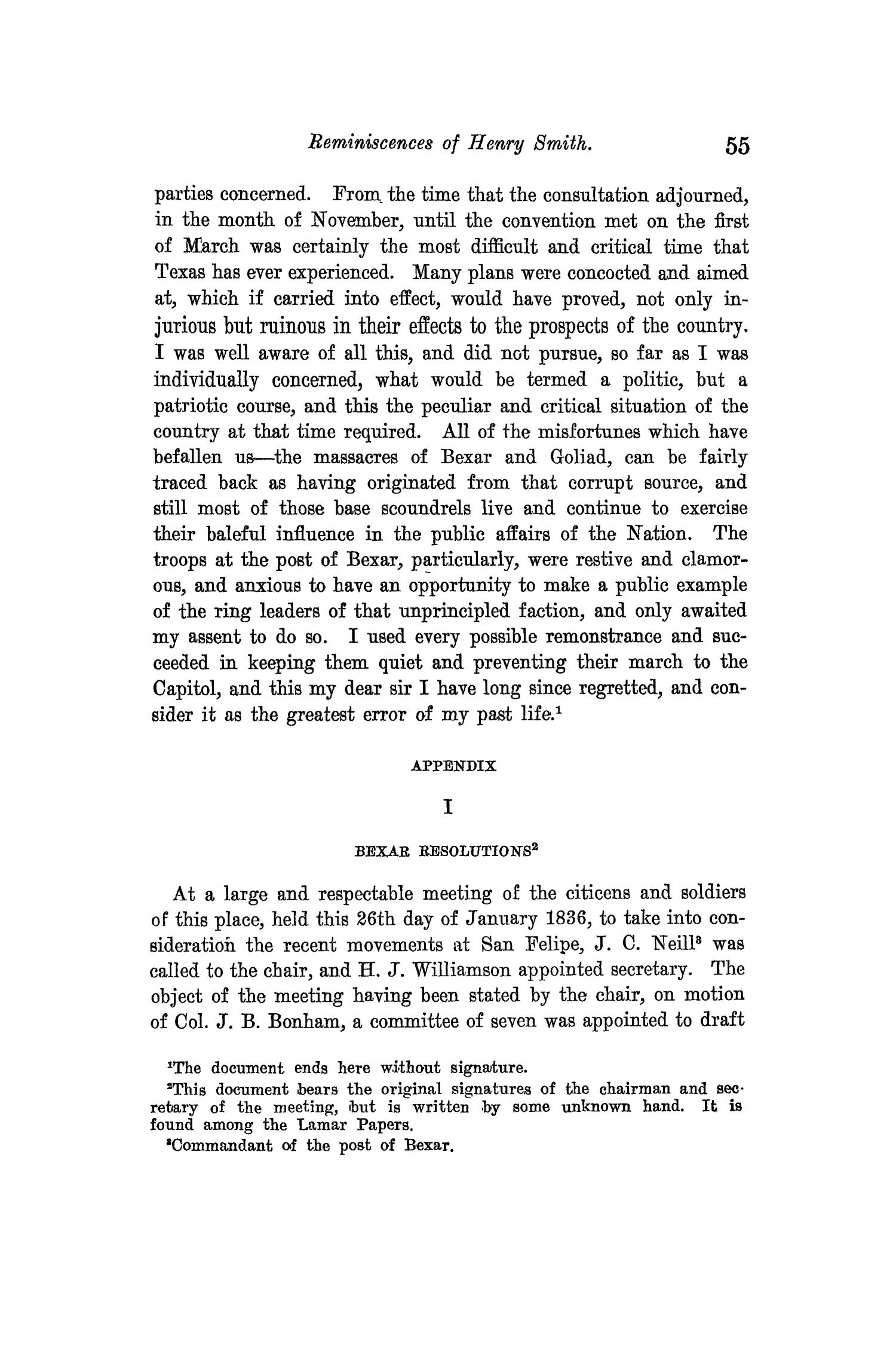 The Quarterly of the Texas State Historical Association, Volume 14, July 1910 - April, 1911                                                                                                      55