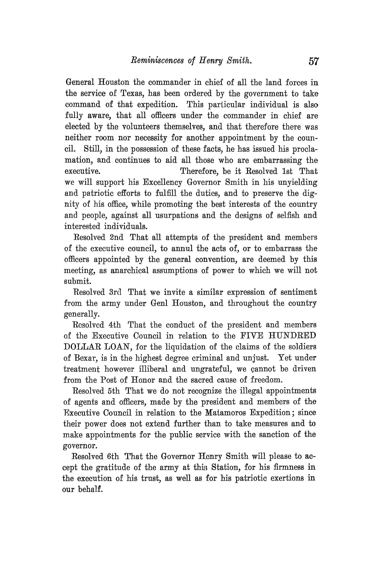 The Quarterly of the Texas State Historical Association, Volume 14, July 1910 - April, 1911                                                                                                      57