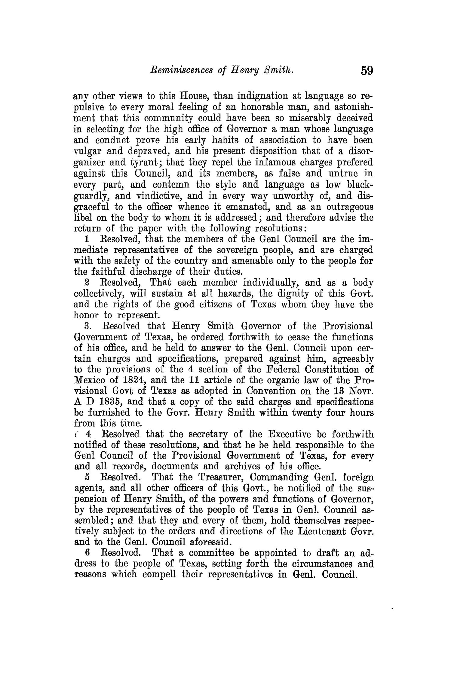 The Quarterly of the Texas State Historical Association, Volume 14, July 1910 - April, 1911                                                                                                      59